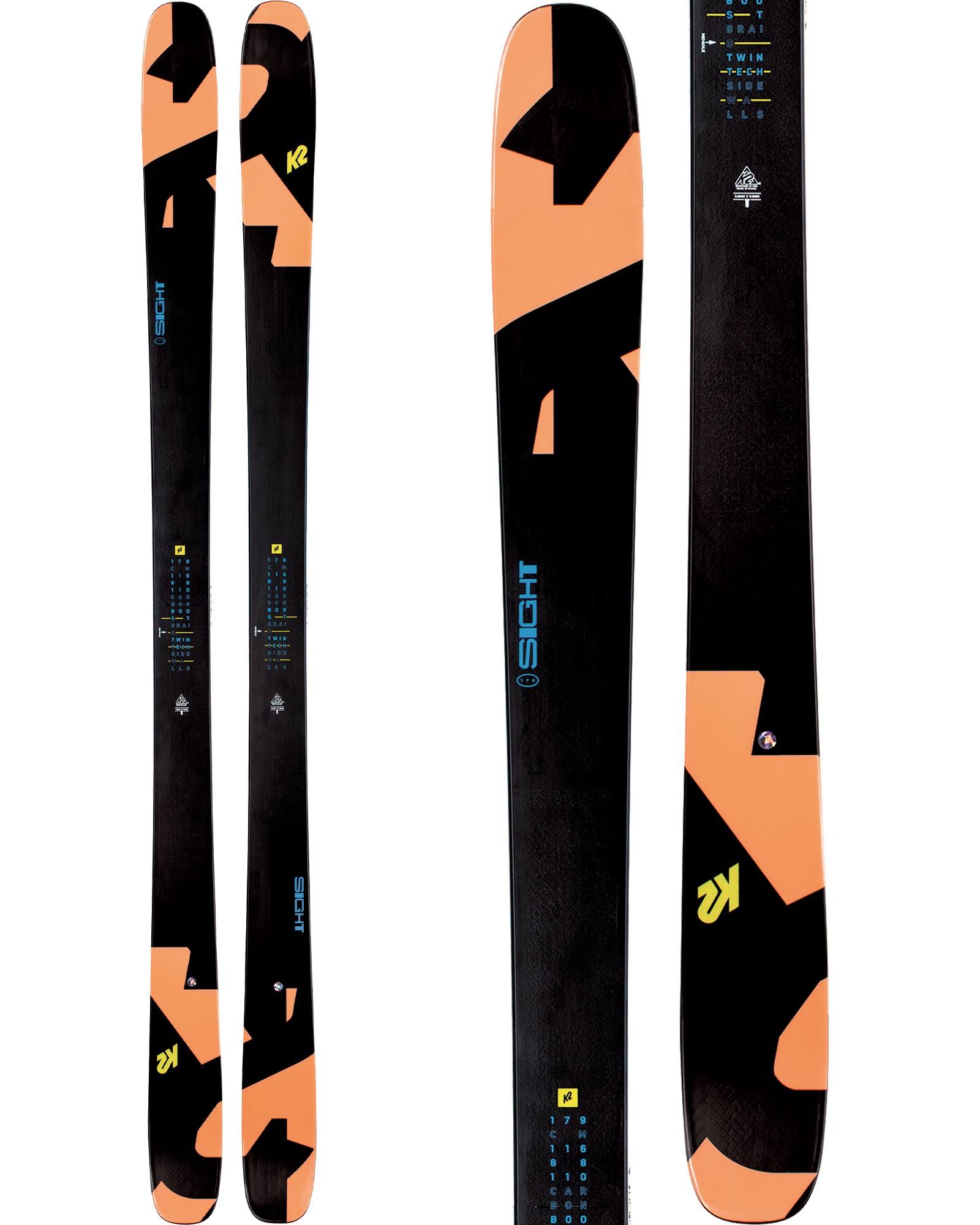 K2 Men's Sight Freestyle Skis 2020 / 2021 0