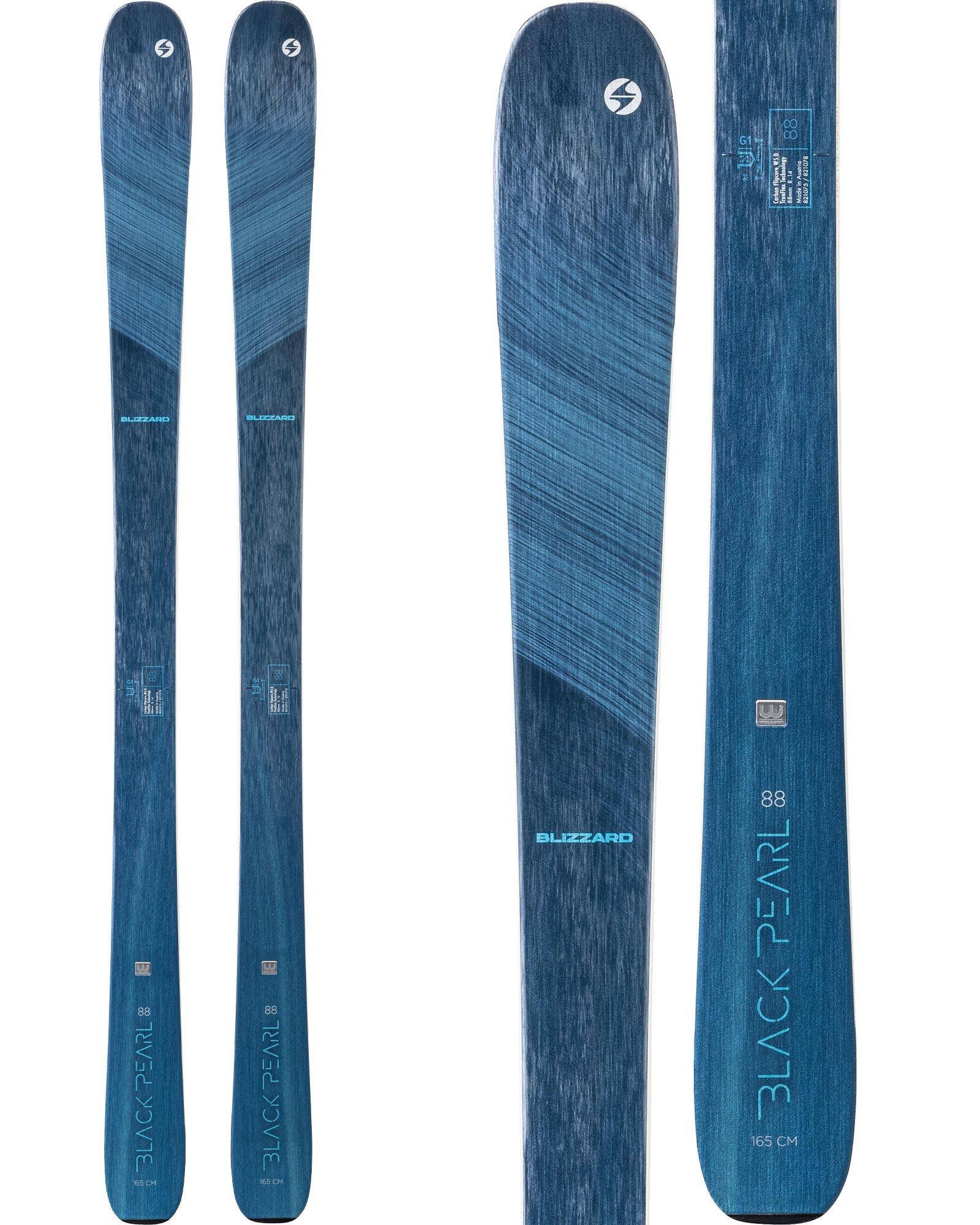 Blizzard Women's Black Pearl 88 All Mountain Skis 2020 / 2021 0