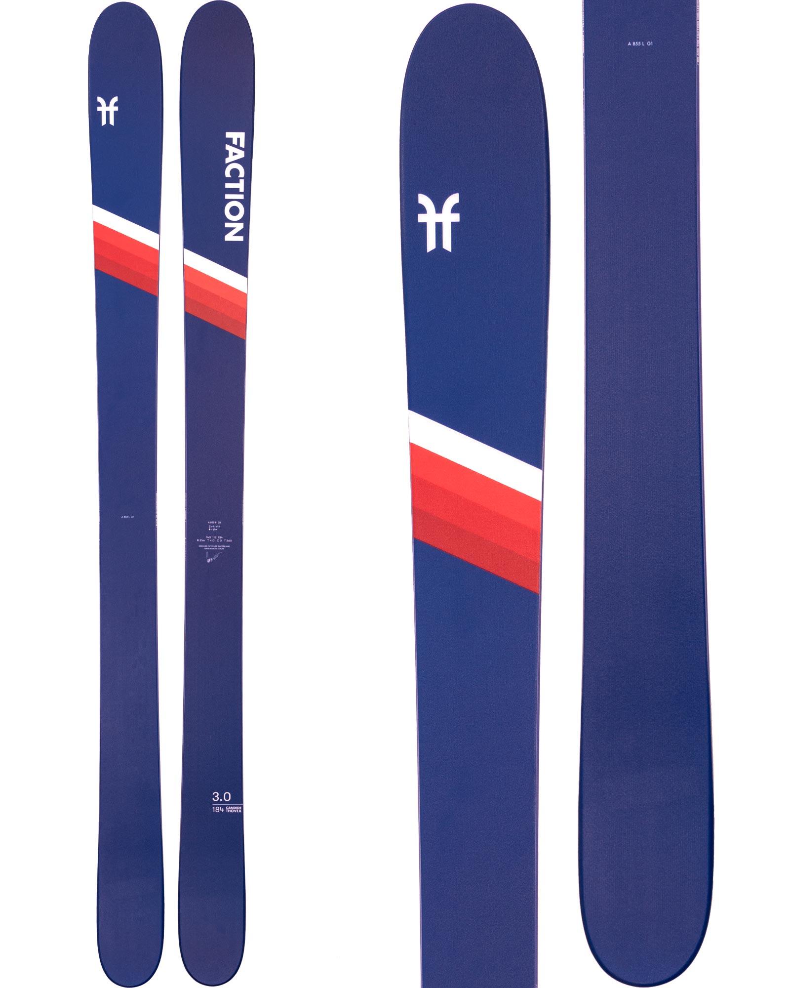 Faction Men's CT 3.0 Freestyle Skis 2020 / 2021 0