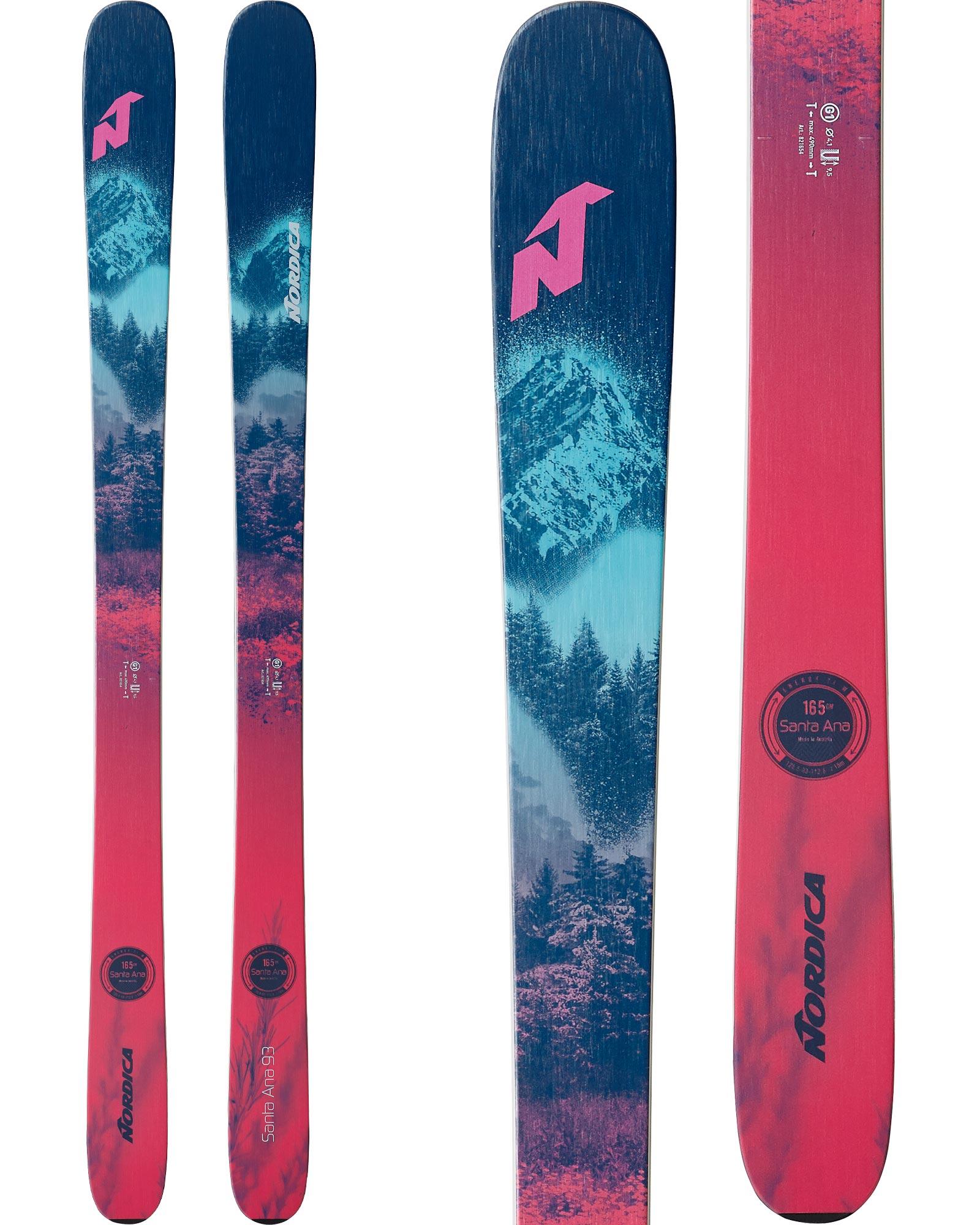 Nordica Women's Santa Ana 93 Freeride Skis 2020 / 2021 0