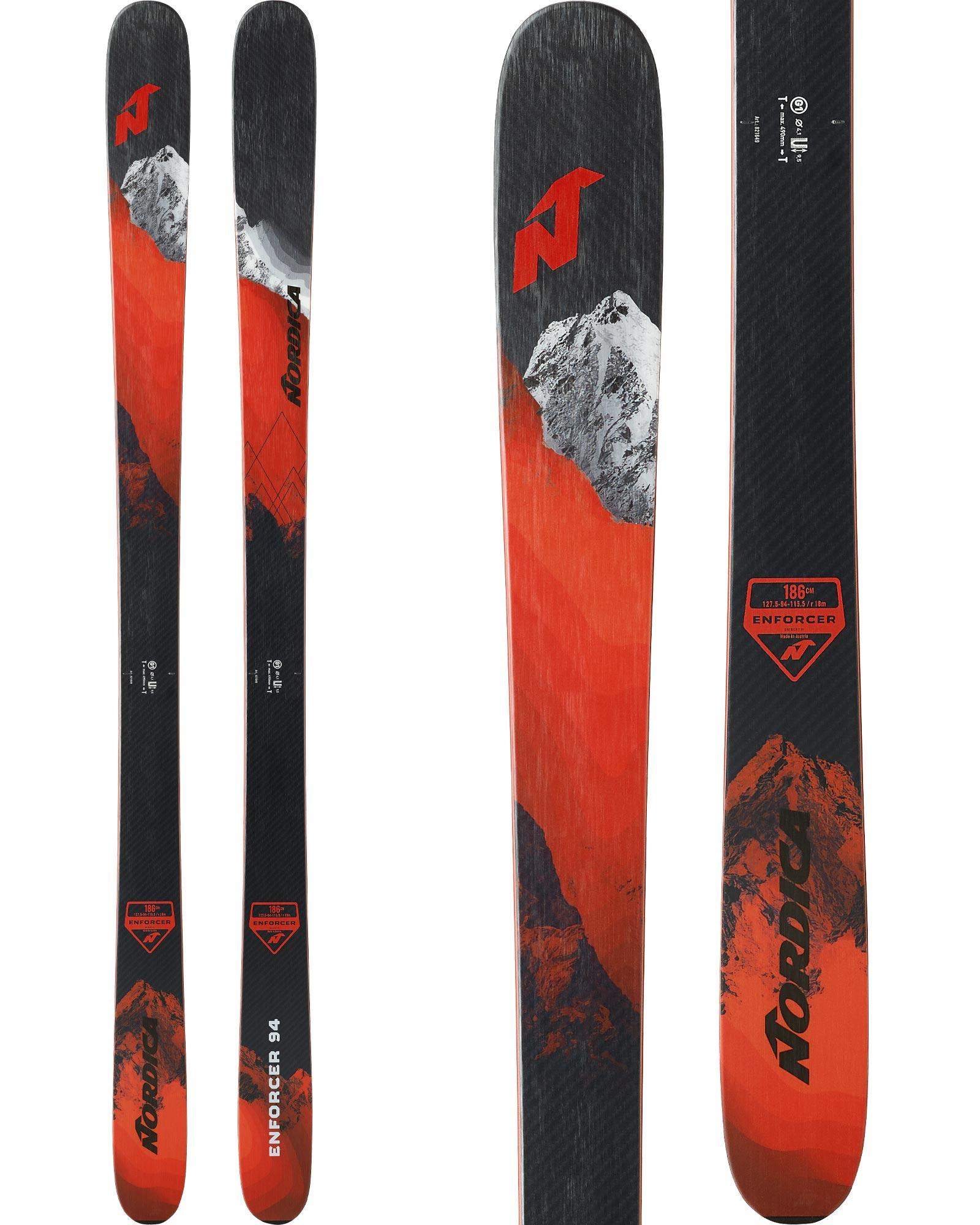 Nordica Men's Enforcer 94 Freeride Skis 2020 / 2021 0