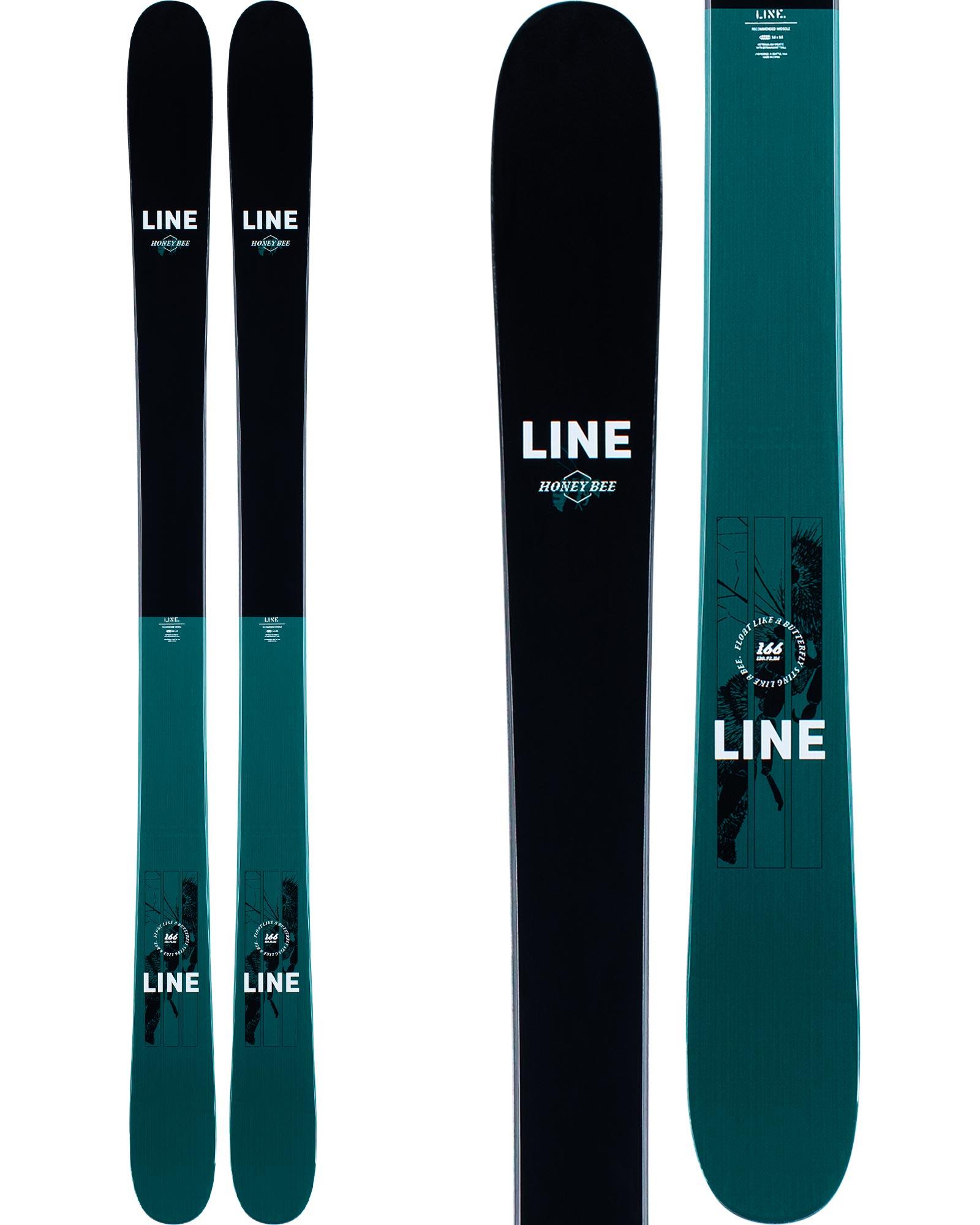 Line Women's Honey Bee Freestyle Skis 2020 / 2021 0