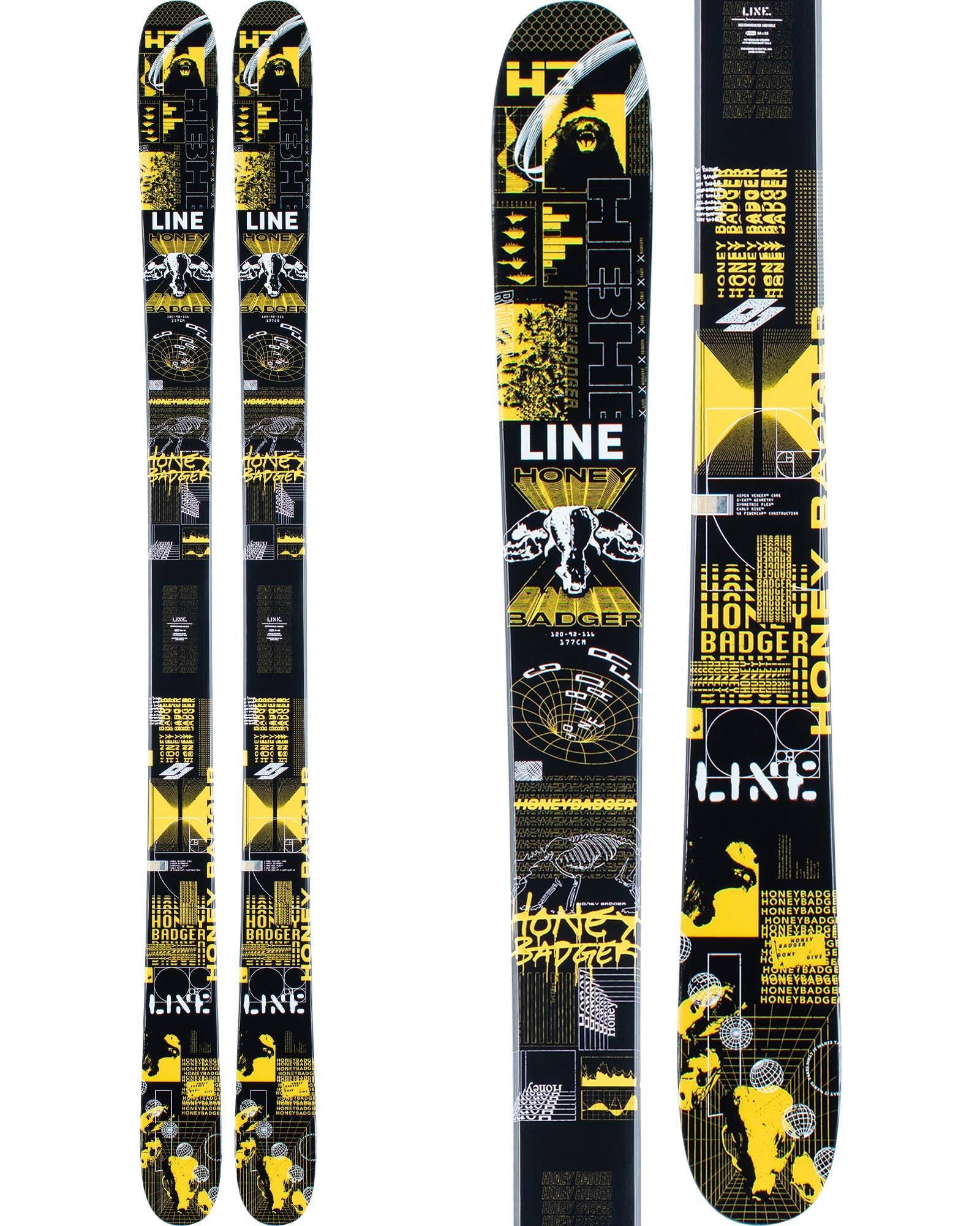 Line Men's Honey Badger Freestyle Skis 2020 / 2021 0