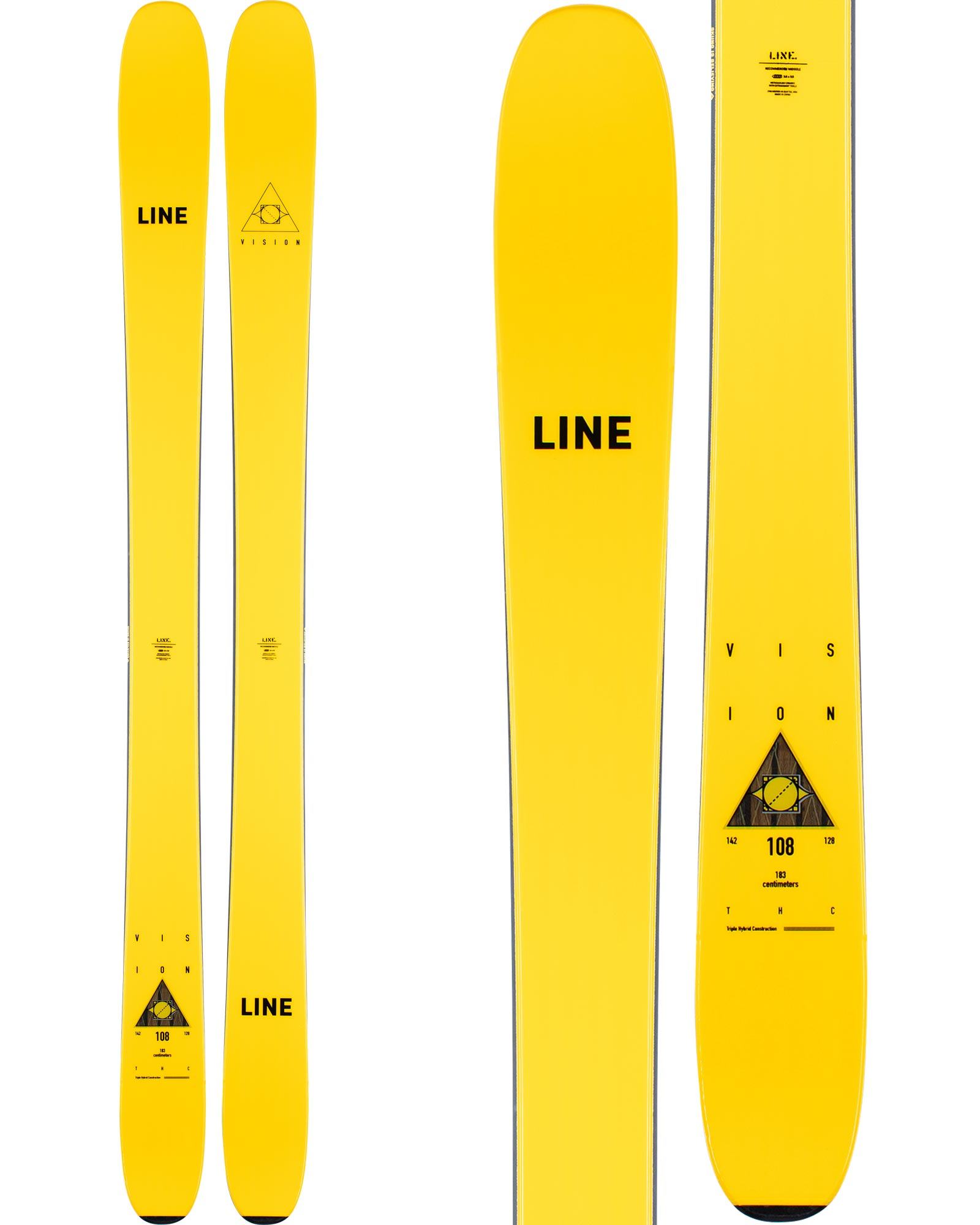 Line Men's Vision 108 Freeride Skis 2020 / 2021 0