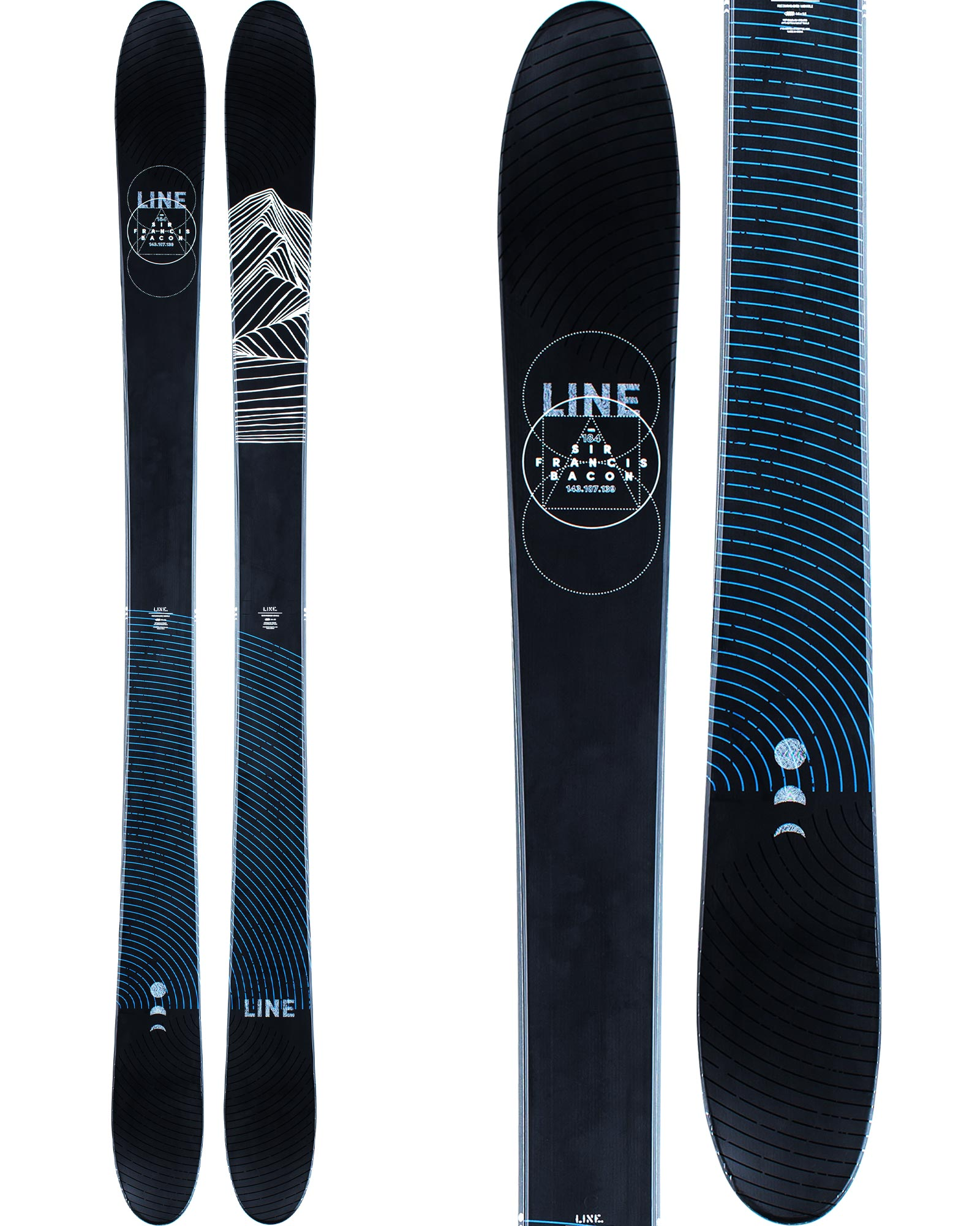 Line Men's Sir Francis Bacon Freestyle Skis 2020 / 2021 0