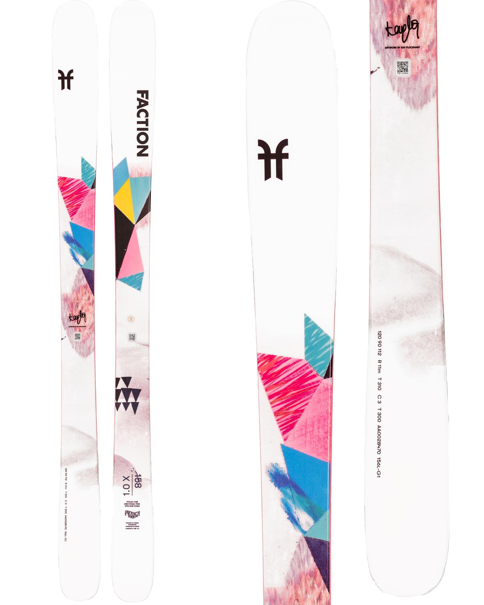 Faction Women's Prodigy 1.0X Freestyle Skis 2020 / 2021 0