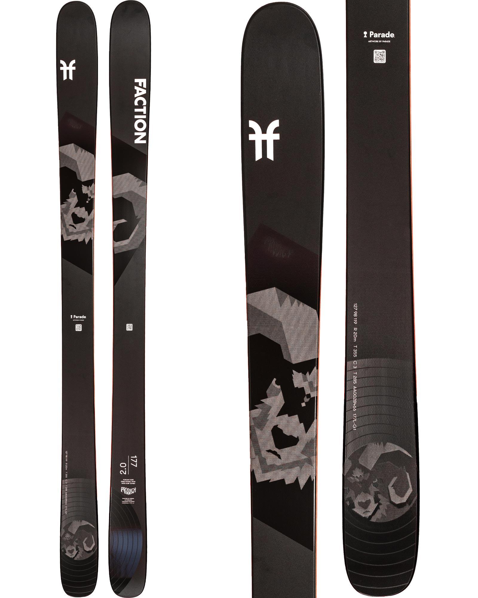 Faction Men's Prodigy 2.0 Freestyle Skis 2020 / 2021 0