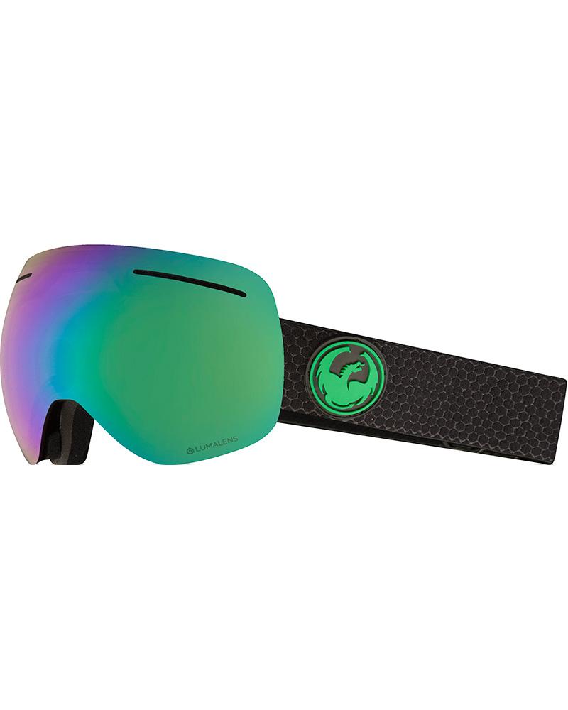 Dragon X1 Split / Lumalens Green Ionized + Lumalens Amber Goggles 2019 / 2020 0