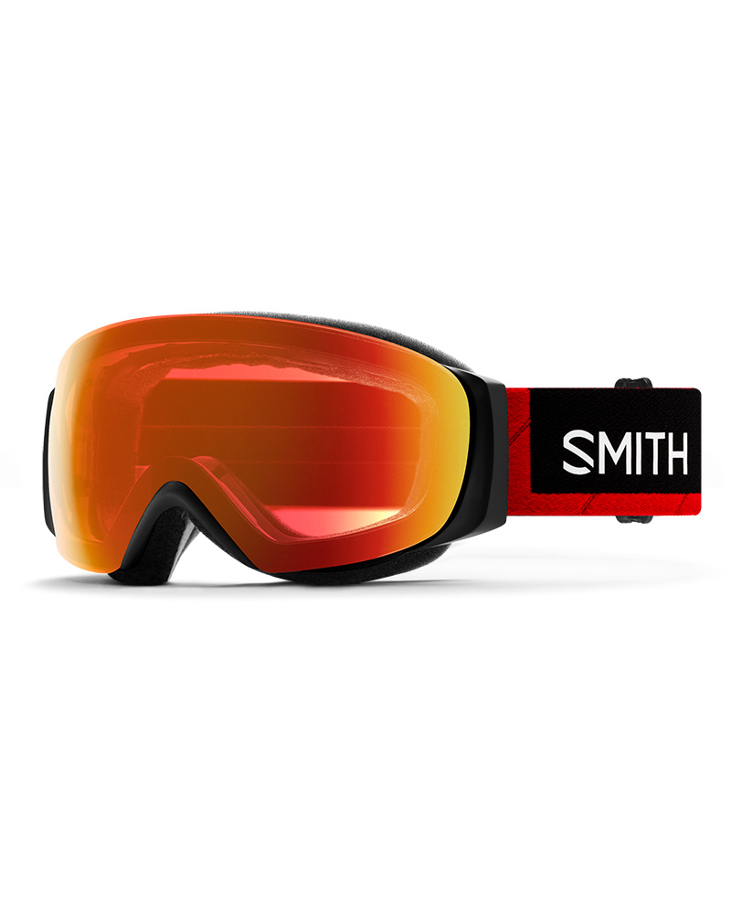Smith I/O MAG S Smith x The North Face / ChromaPop Everyday Red Mirror + ChromaPop Storm Rose Flash Goggles 2019 / 2020 TNF Red 0