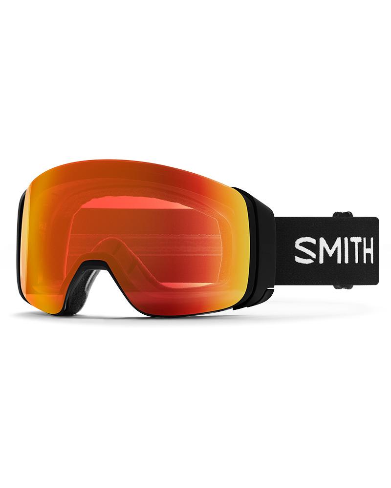 Smith 4D MAG Black / ChromaPop Everyday Red Mirror + ChromaPop Storm Rose Flash Goggles 2019 / 2020 0