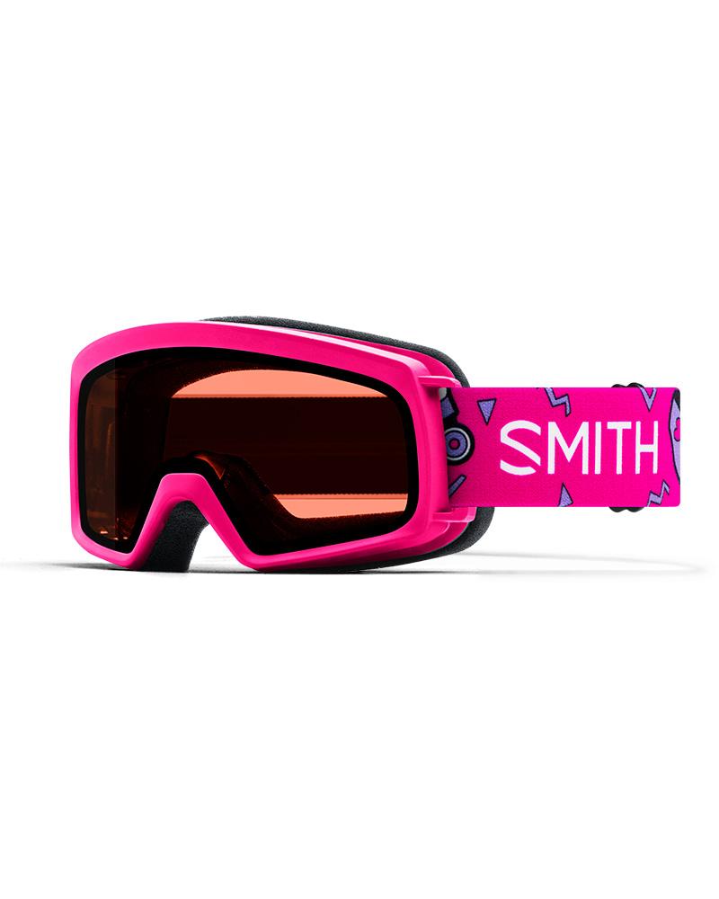 Smith Kids' Rascal Pink Skates / RC36 Goggles 2019 / 2020 Pink Skates 0