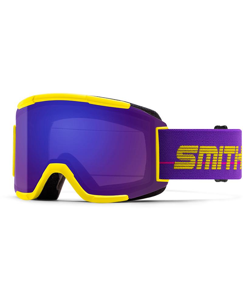 Smith Squad Yellow 93 / ChromaPop Everyday Violet Mirror + Yellow Goggles 2019 / 2020 Yellow 0