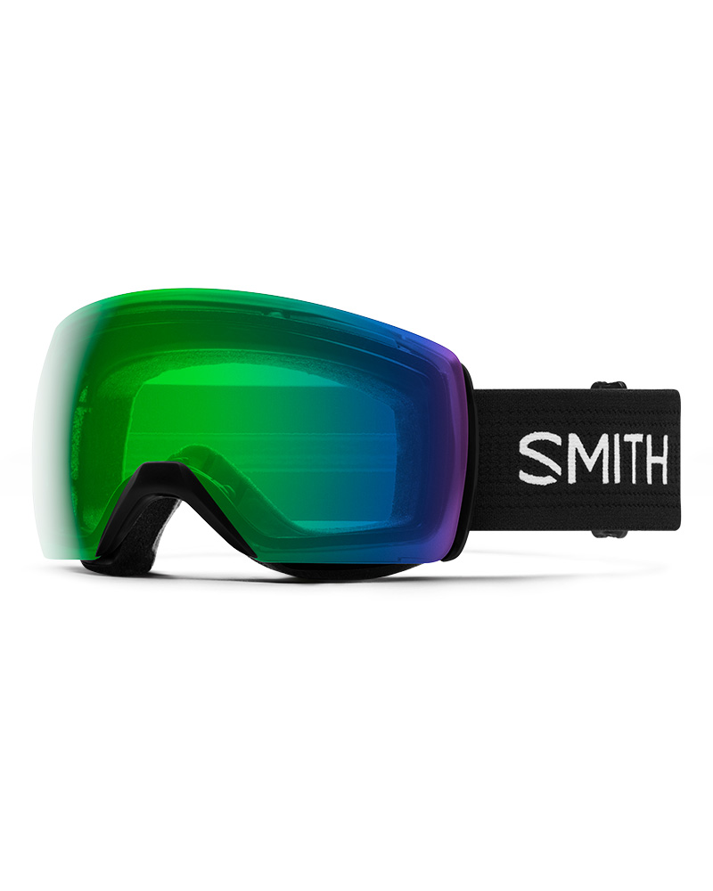 Smith Skyline XL Black / ChromaPop Everday Green Mirror Goggles 2019 / 2020 0