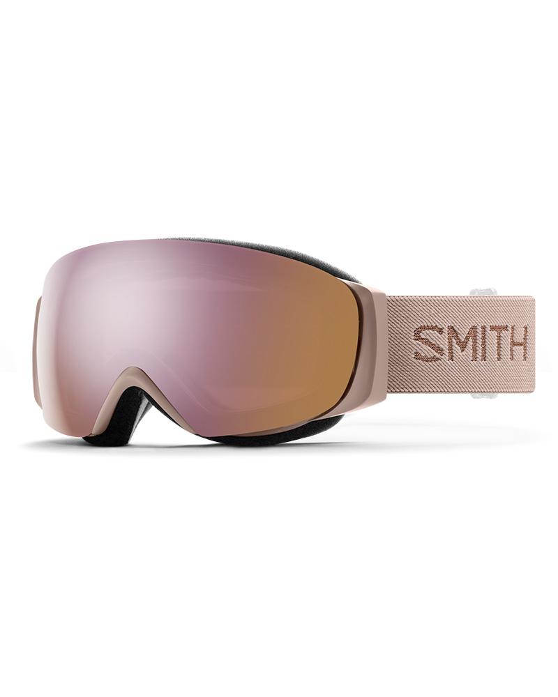 Smith Women's I/O MAG S Tusk / ChromaPop Everyday Rose Gold Mirror + ChromaPop Storm Rose Flash Goggles 2019 / 2020 Tusk 0