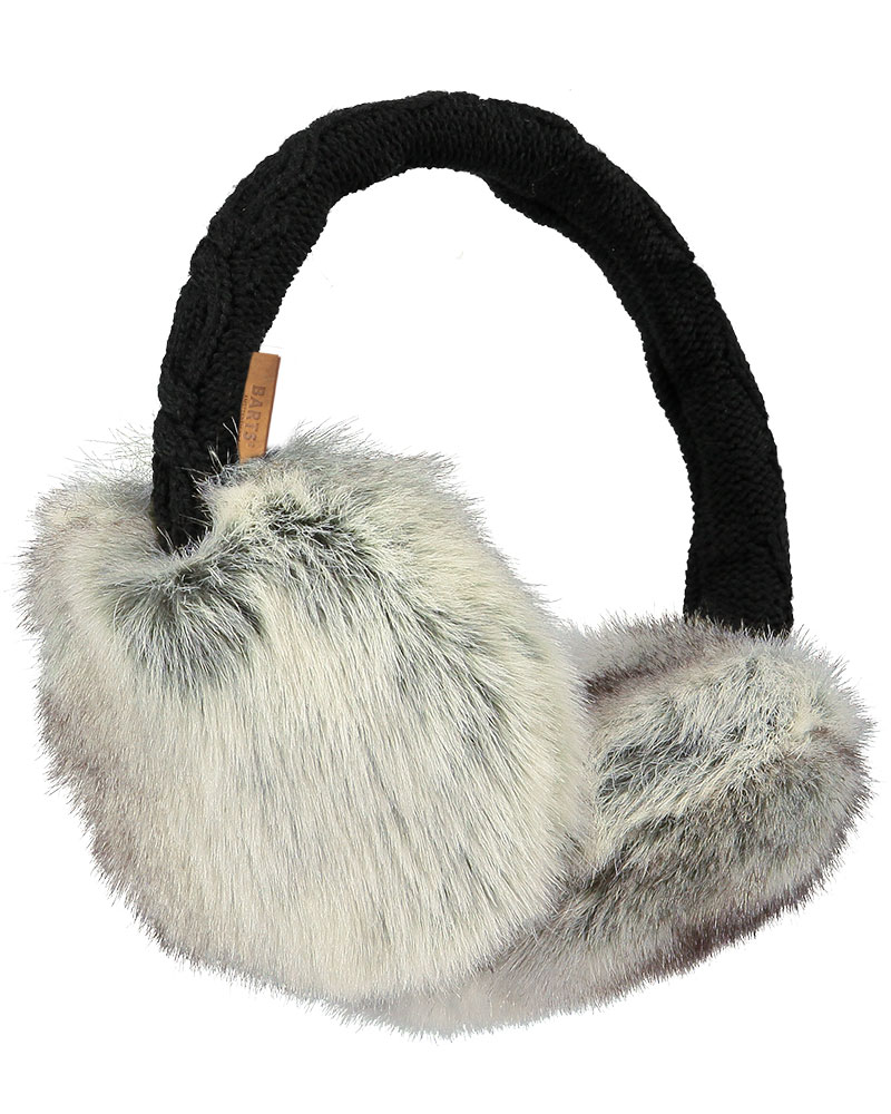 Barts Women's Fur Ear Muffs Heather Brown 0