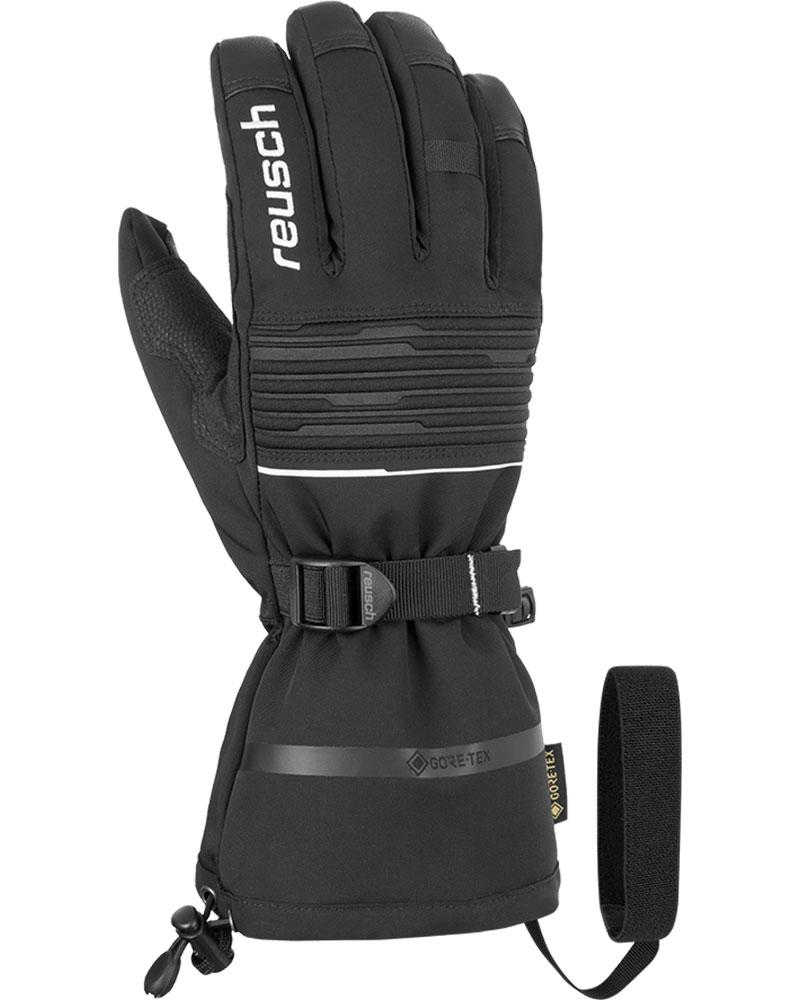 Reusch Men's Isidro GORE-TEX Ski Gloves Black/Whie 0