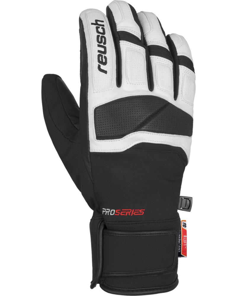 Reusch Men's Mastery Ski Gloves Black/Whie 0
