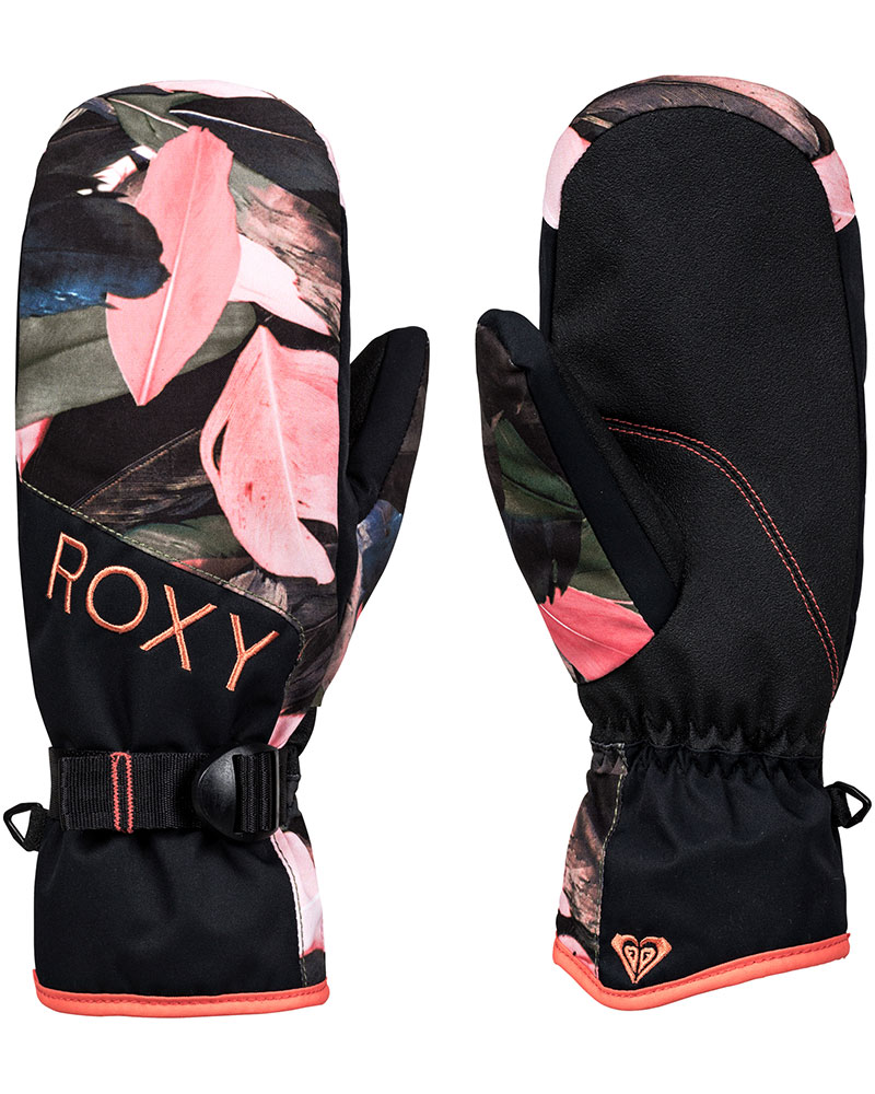 Roxy Women's Jetty Snowsports Mittens Living Coral 0