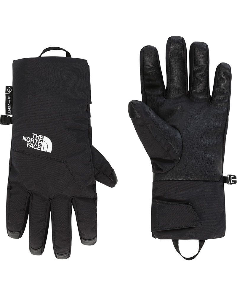 The North Face Men's Guardian DryVent Ski Gloves TNF Black 0
