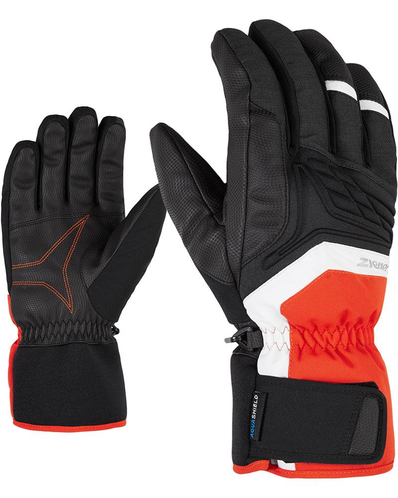 Ziener Men's Galvin Ski Gloves New Red 0
