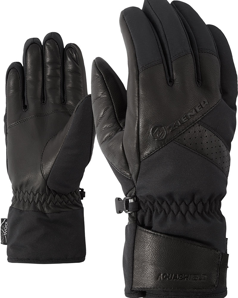 Ziener Men's Getter Ski Gloves Black 0