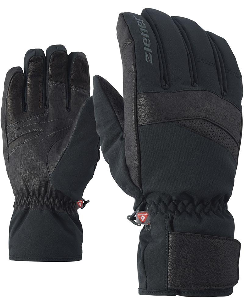 Ziener Men's Grady Ski Gloves Black 0