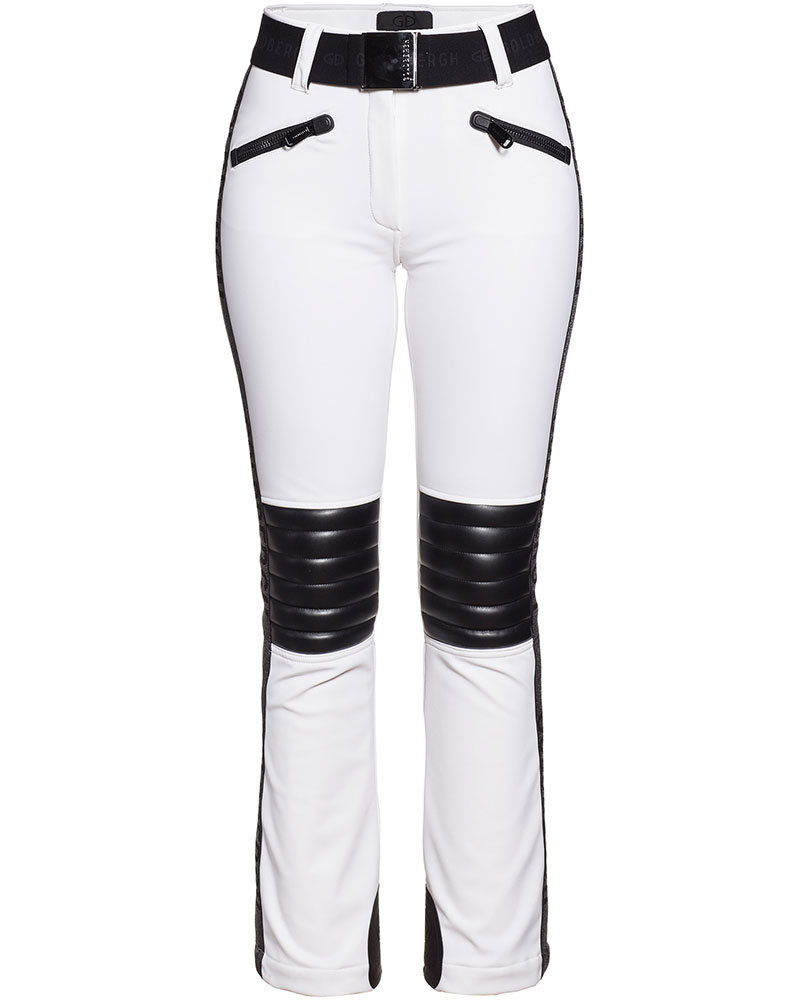 Goldbergh Women's Rocky Ski Pants White 0