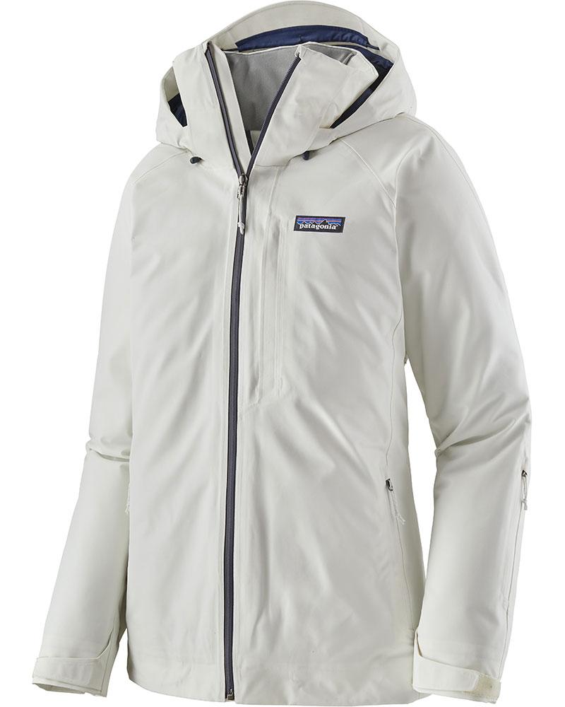 Patagonia Women's Insulated Powder Bowl Ski Jacket Birch White 0