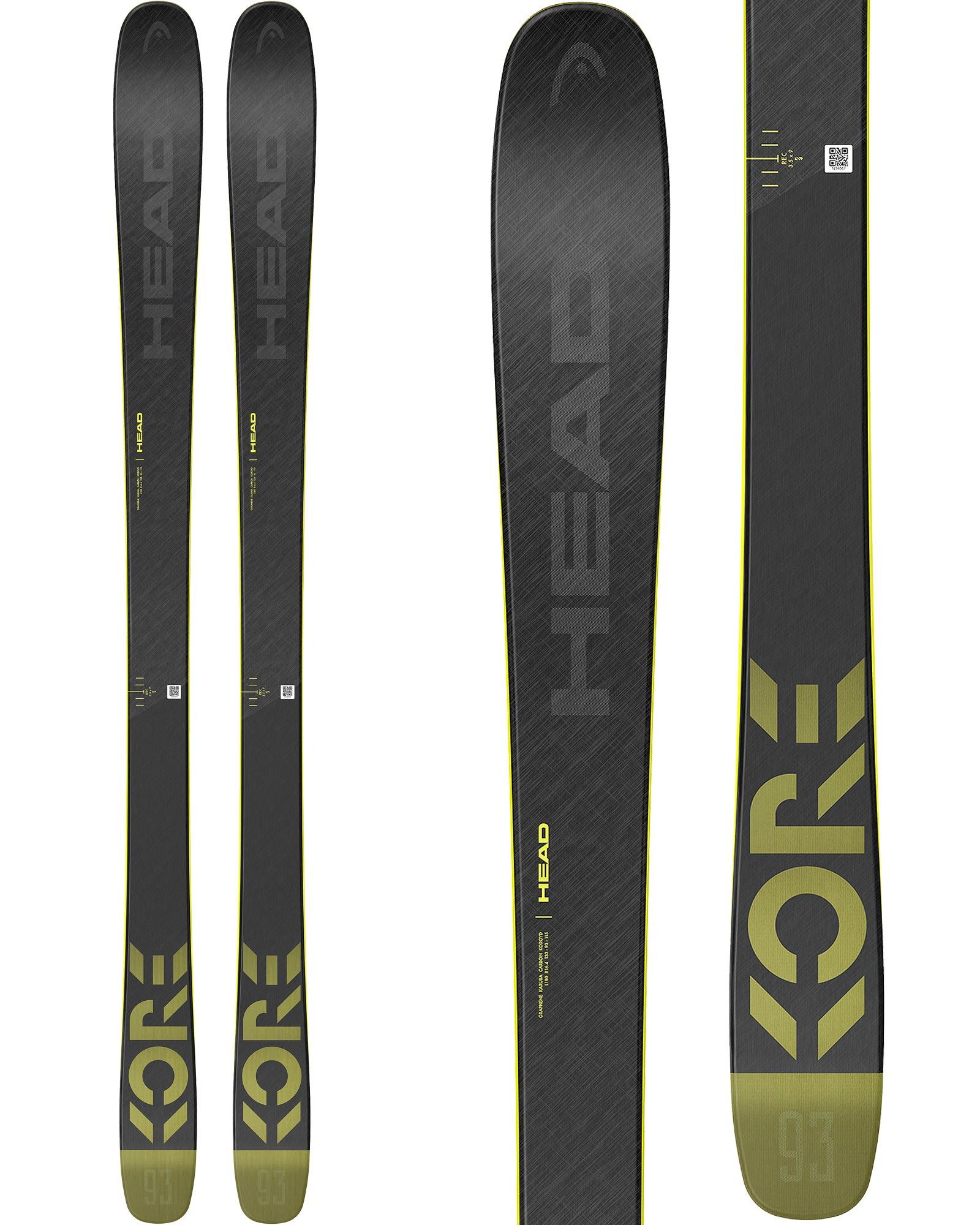 Head Men's Kore 93 Freeride Skis 2020 / 2021 0