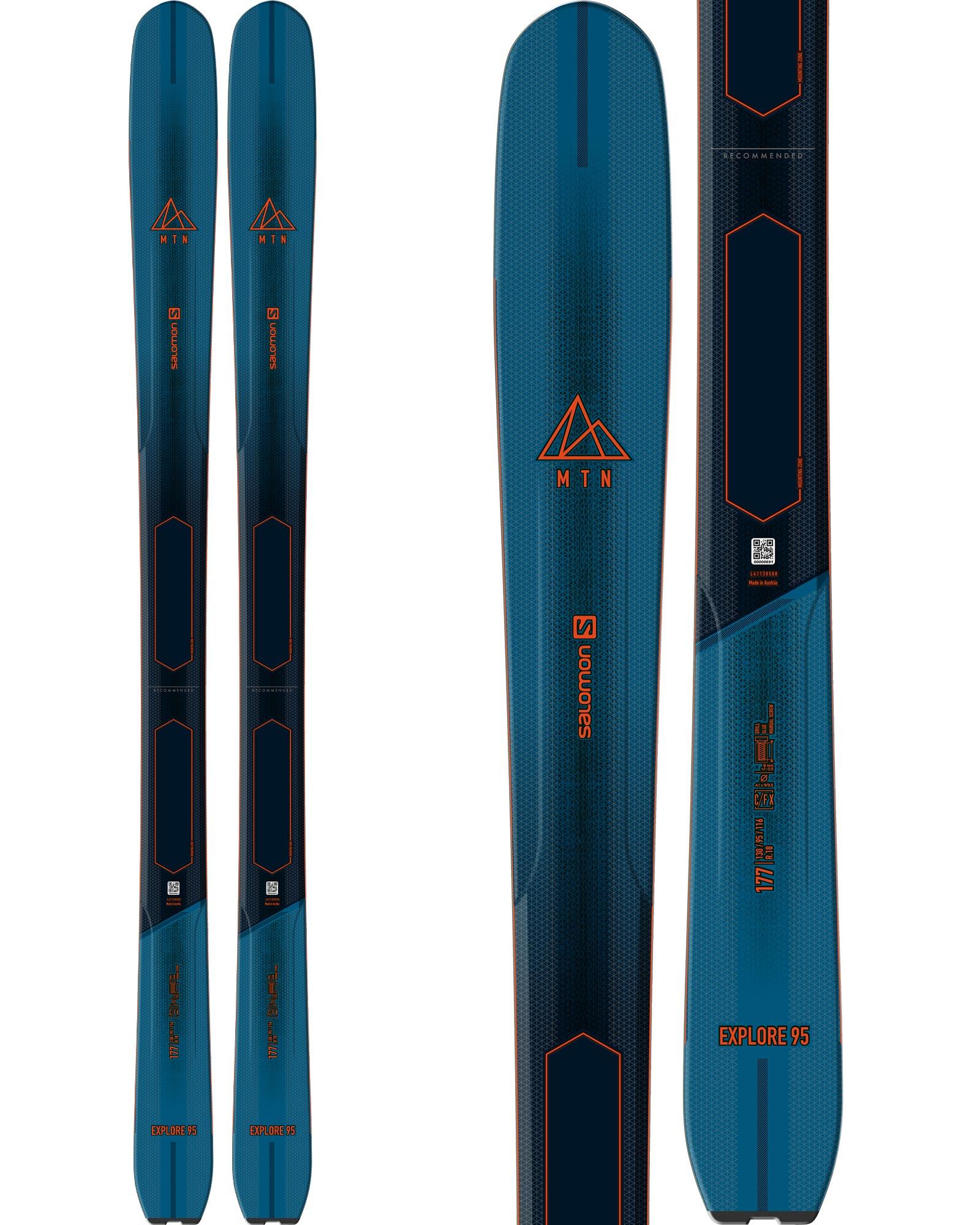 Salomon MTN Explore 95 Backcountry Skis 2020 / 2021 0