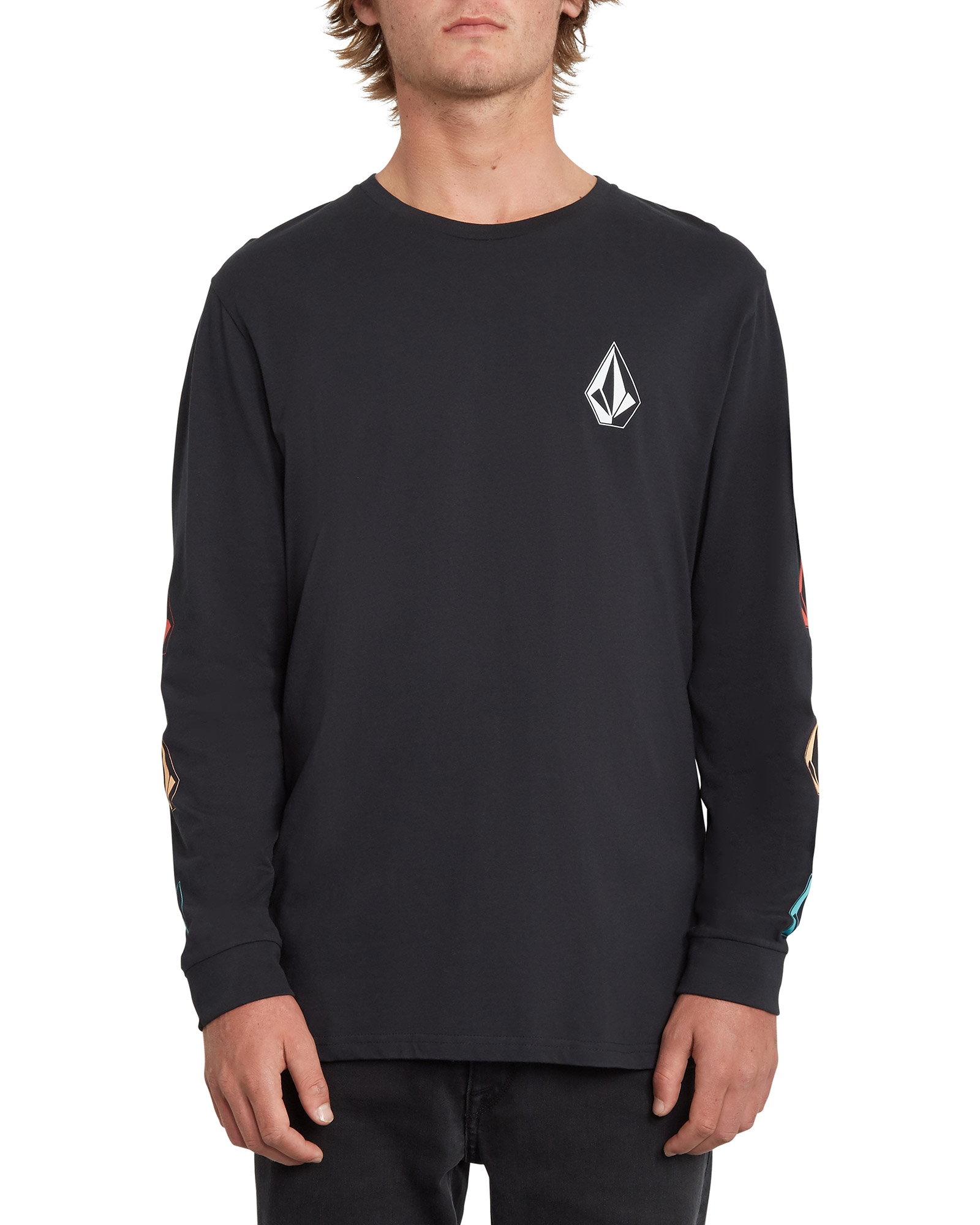 Volcom Men's Deadly Stone BSC Long Sleeve T-Shirt 0