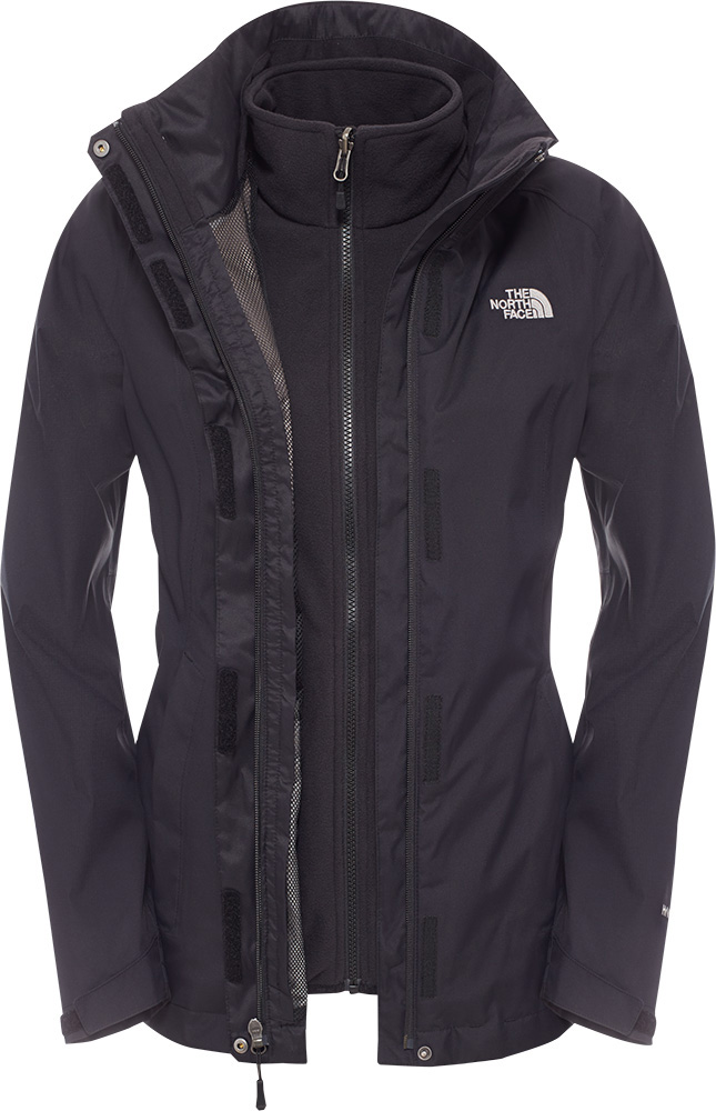 The North Face Women's Evolve Triclimate 3 in 1 DryVent Jacket TNF Black 0