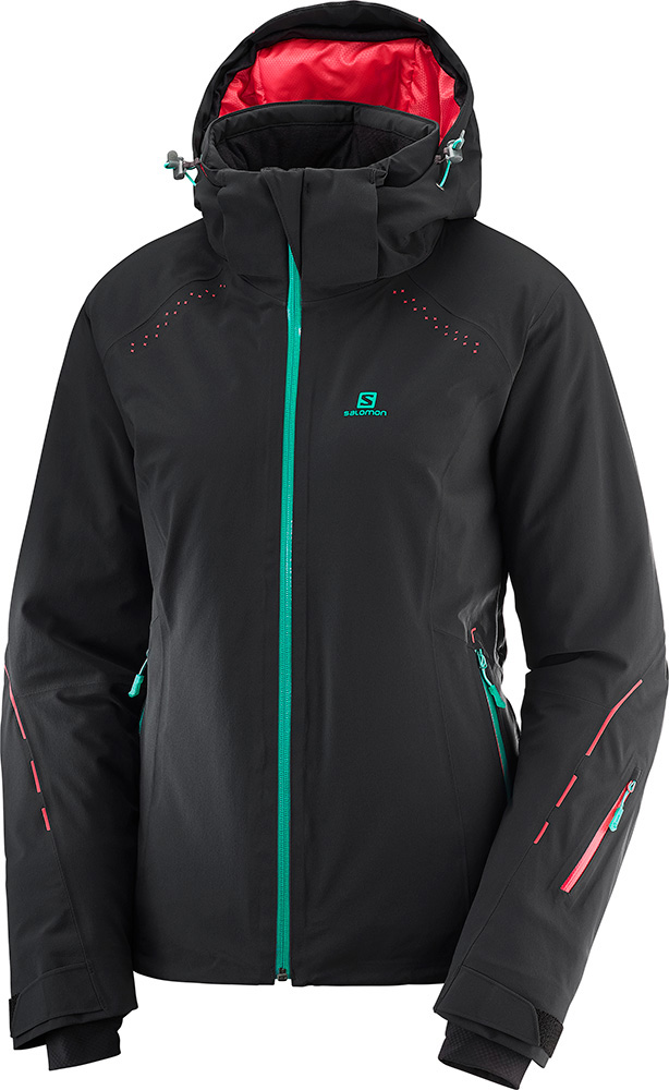 Salomon Women's Icecrystal Ski Jacket 0