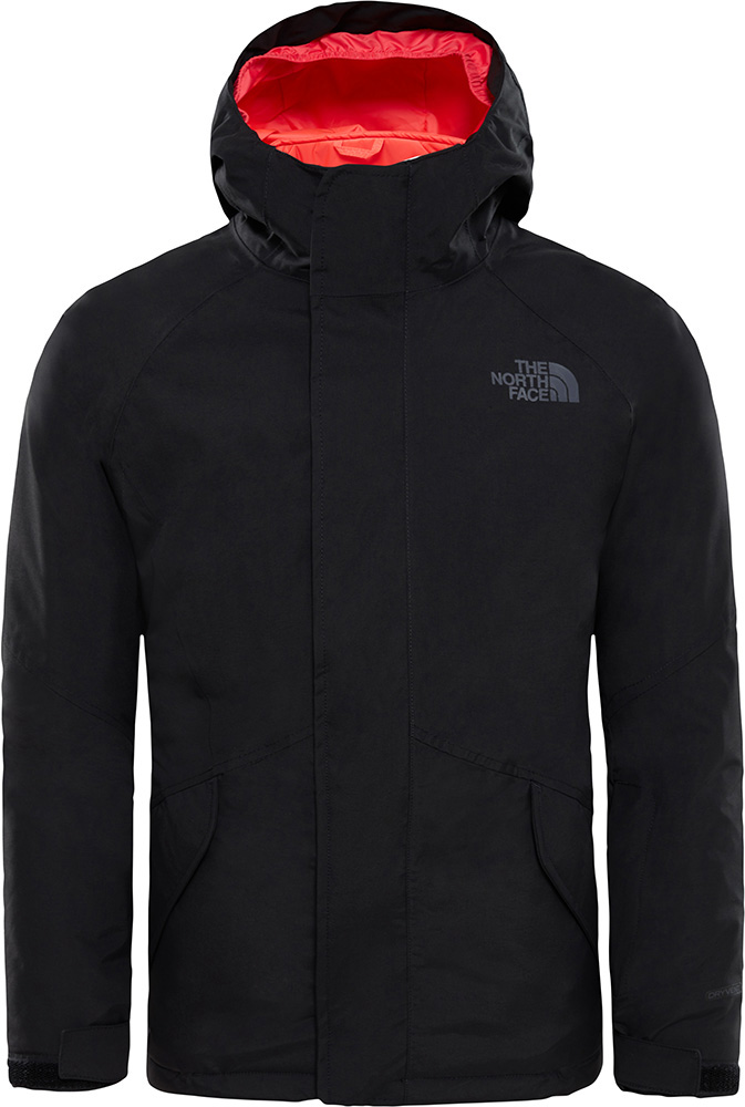 The North Face Girls' Kira Tri Snow DryVent Snowsports Jacket Age 14+ TNF Black/TNF Black 0