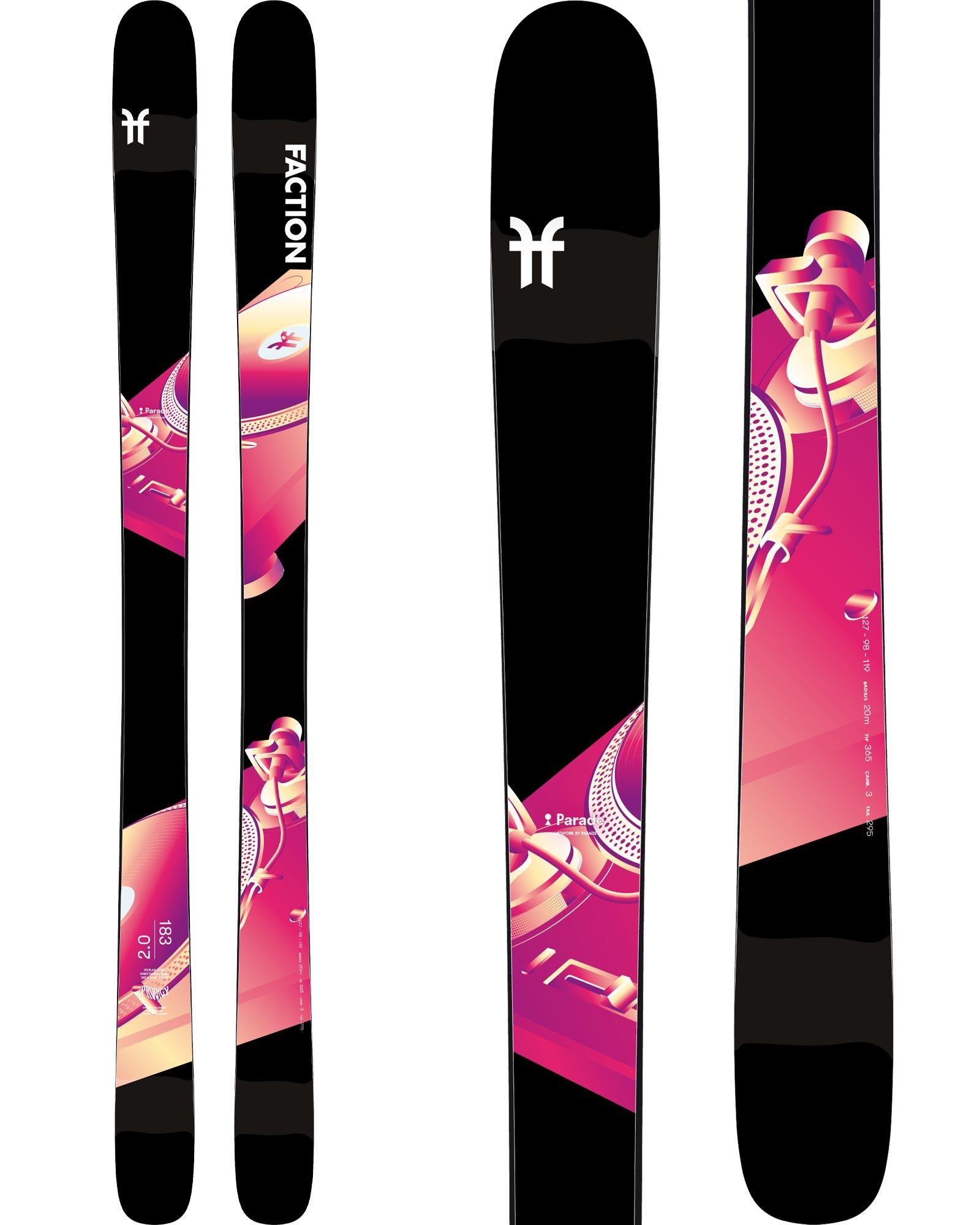 Faction Men's Prodigy 2.0 Freestyle Skis 2019 / 2020 0