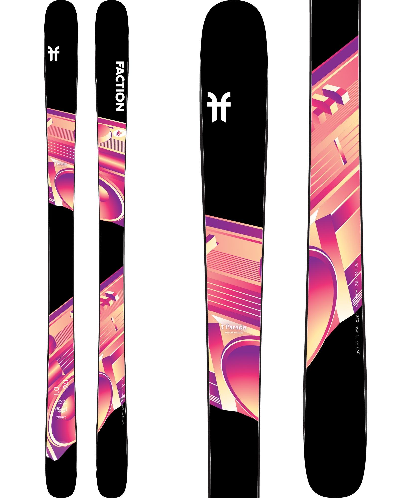 Faction Men's Prodigy 1.0 Freestyle Skis 2019 / 2020 0
