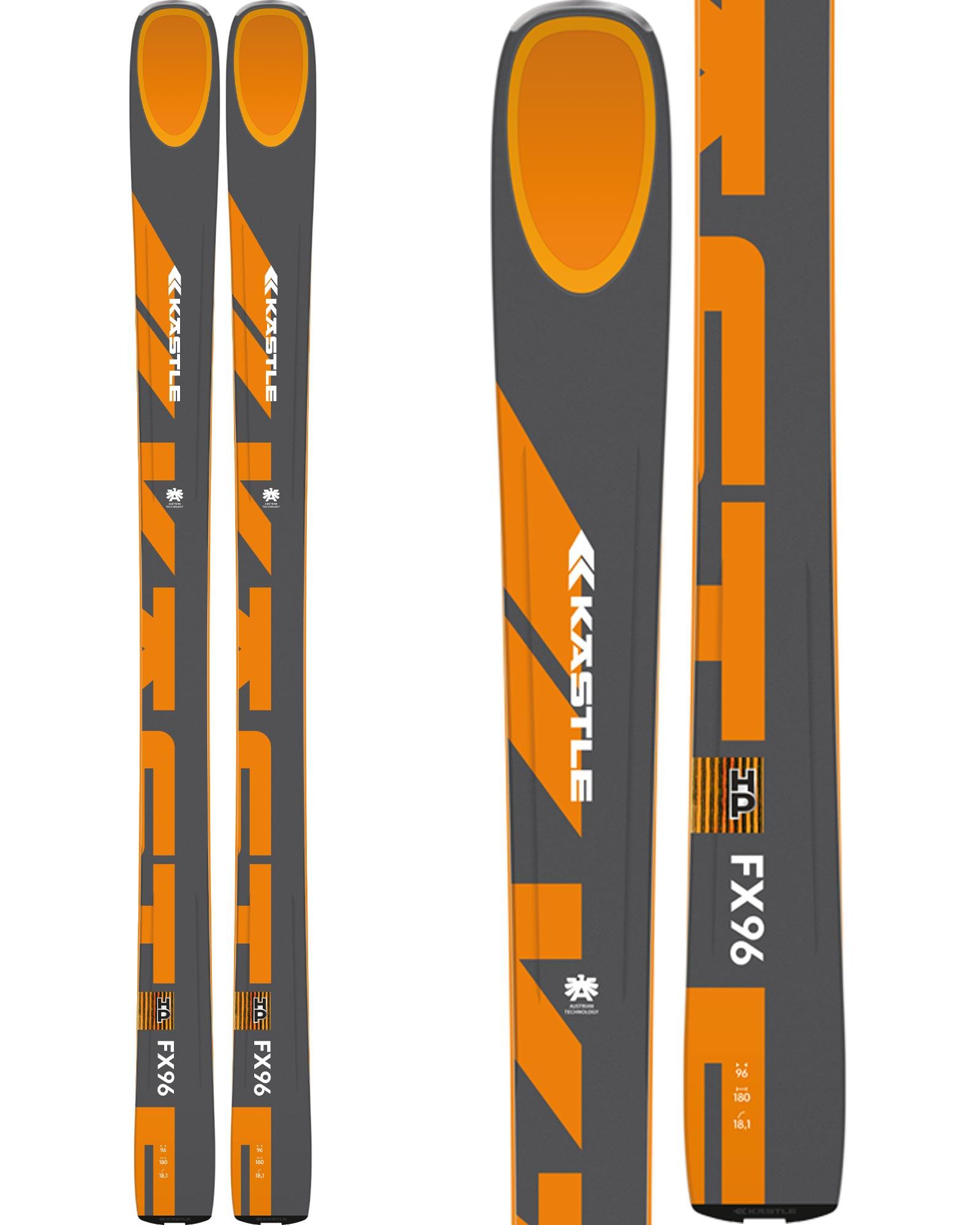 Kastle Men's FX96 HP Freeride Skis 2020 / 2021 0