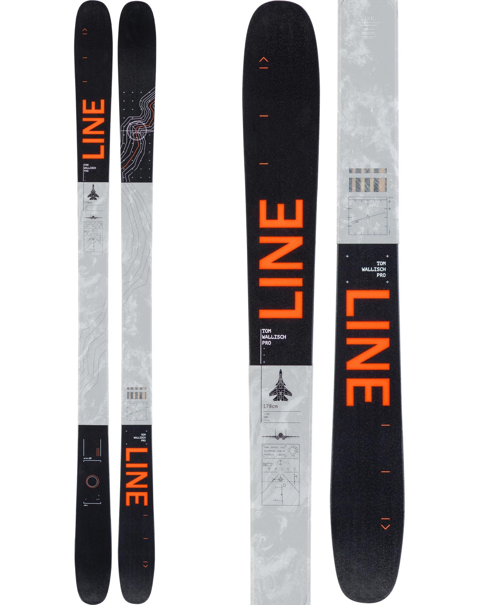 Line Men's Tom Wallisch Pro Freestyle Skis 2019 / 2020 0