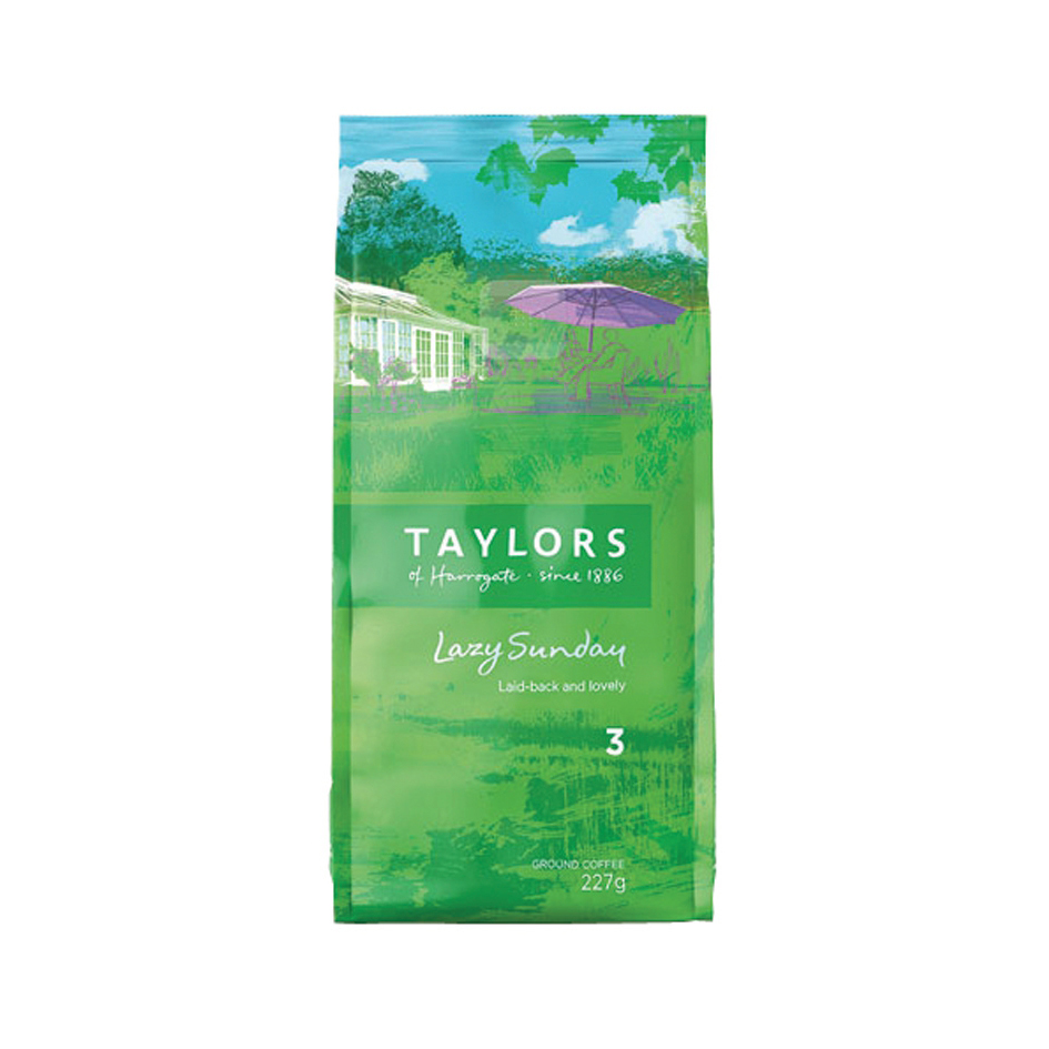 Taylors Lazy Sunday Coffee 227g Ref A076599