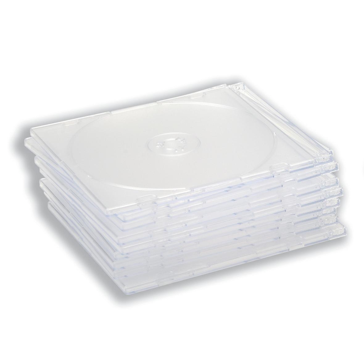 CD Slimline Jewel Case Clear [Pack 100]