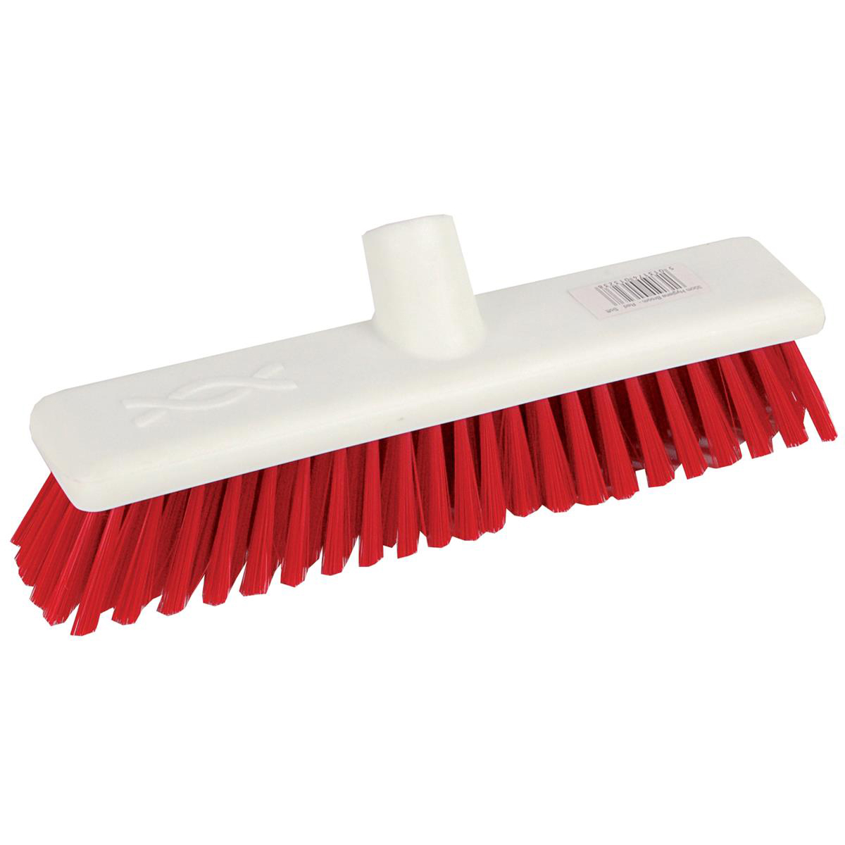 Robert Scott & Sons Abbey Hygiene Broom 12inch Washable Soft Broom Head Red Ref BHYRS12SR