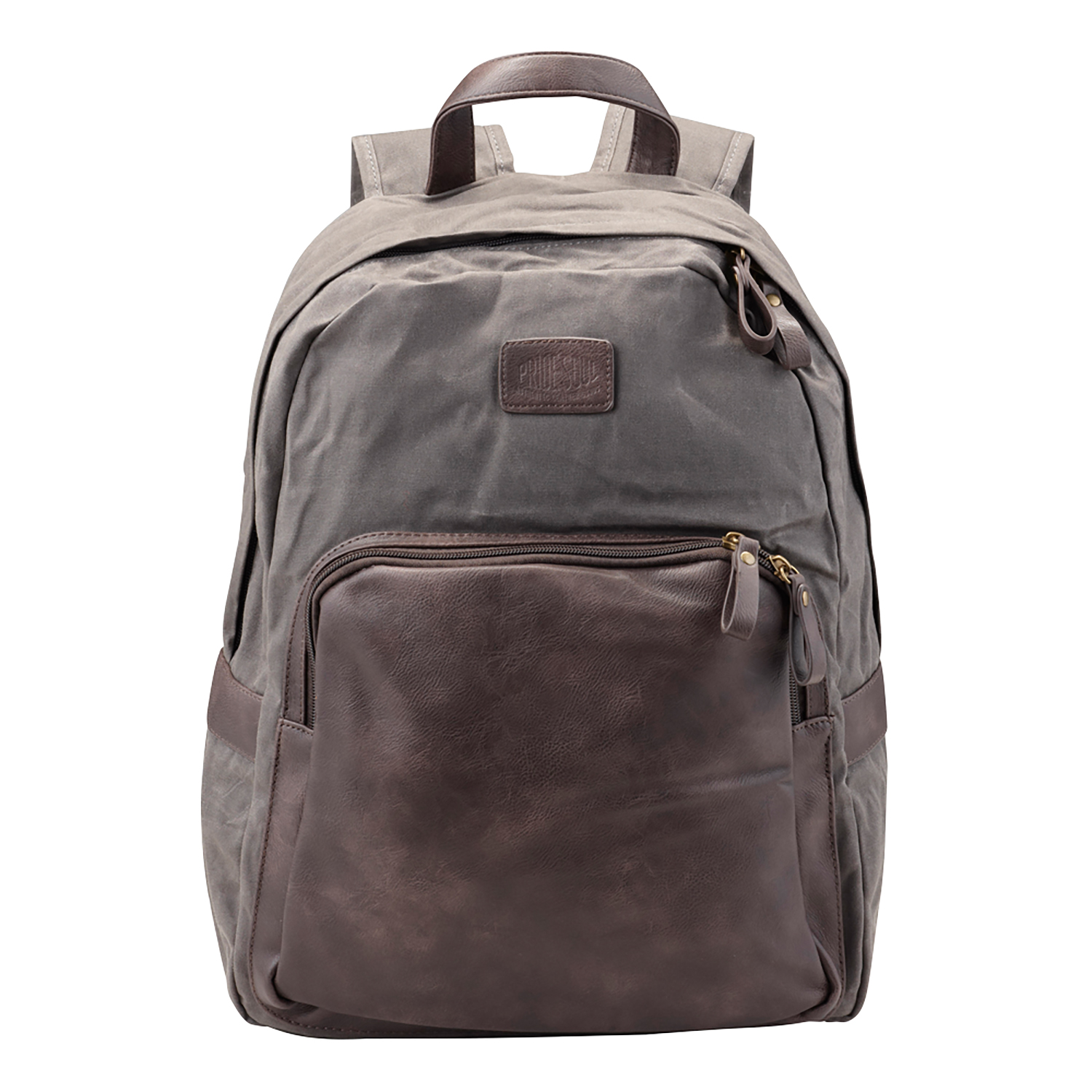 Image for Pride and Soul Sensation 15inch Laptop Backpack Grey/Brown Ref 47301