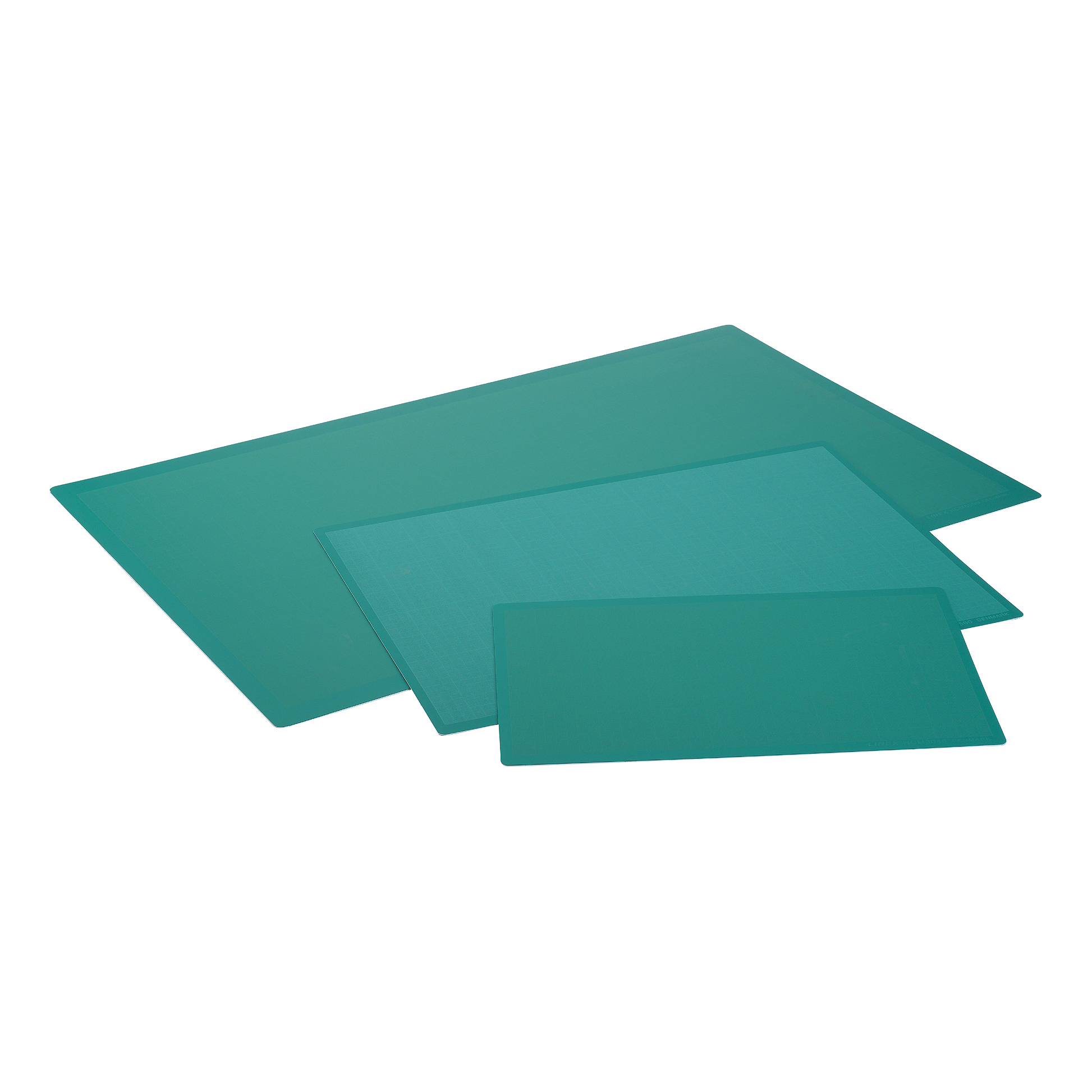 Cutting Mat Anti Slip Self Healing 3 Layers 1mm Grid on Front A1 Green Ref LXKHCM6090