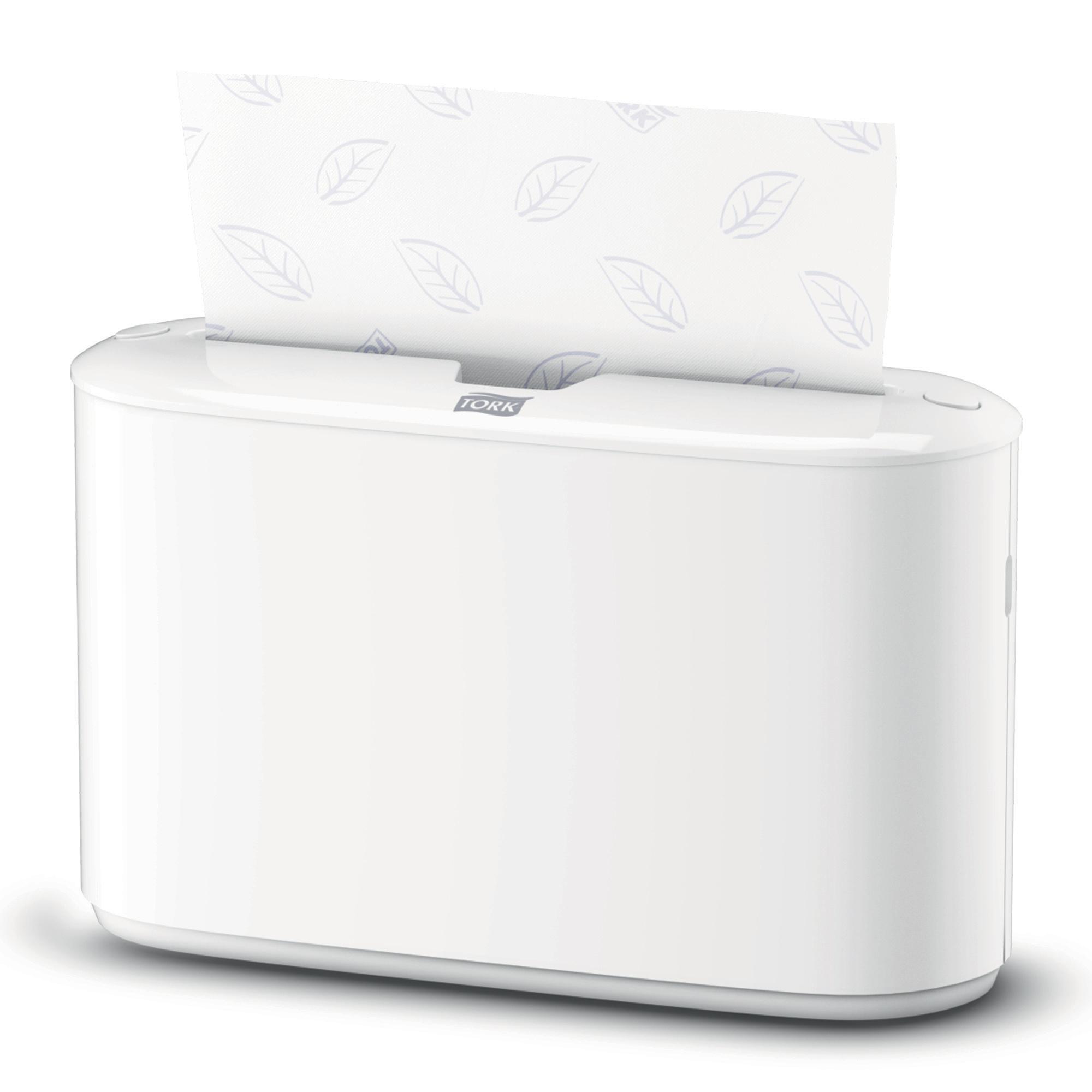 Tork Xpress Countertop Multifold Hand Towel Dispenser W274xD169xH382mm Plastic White Ref 552200