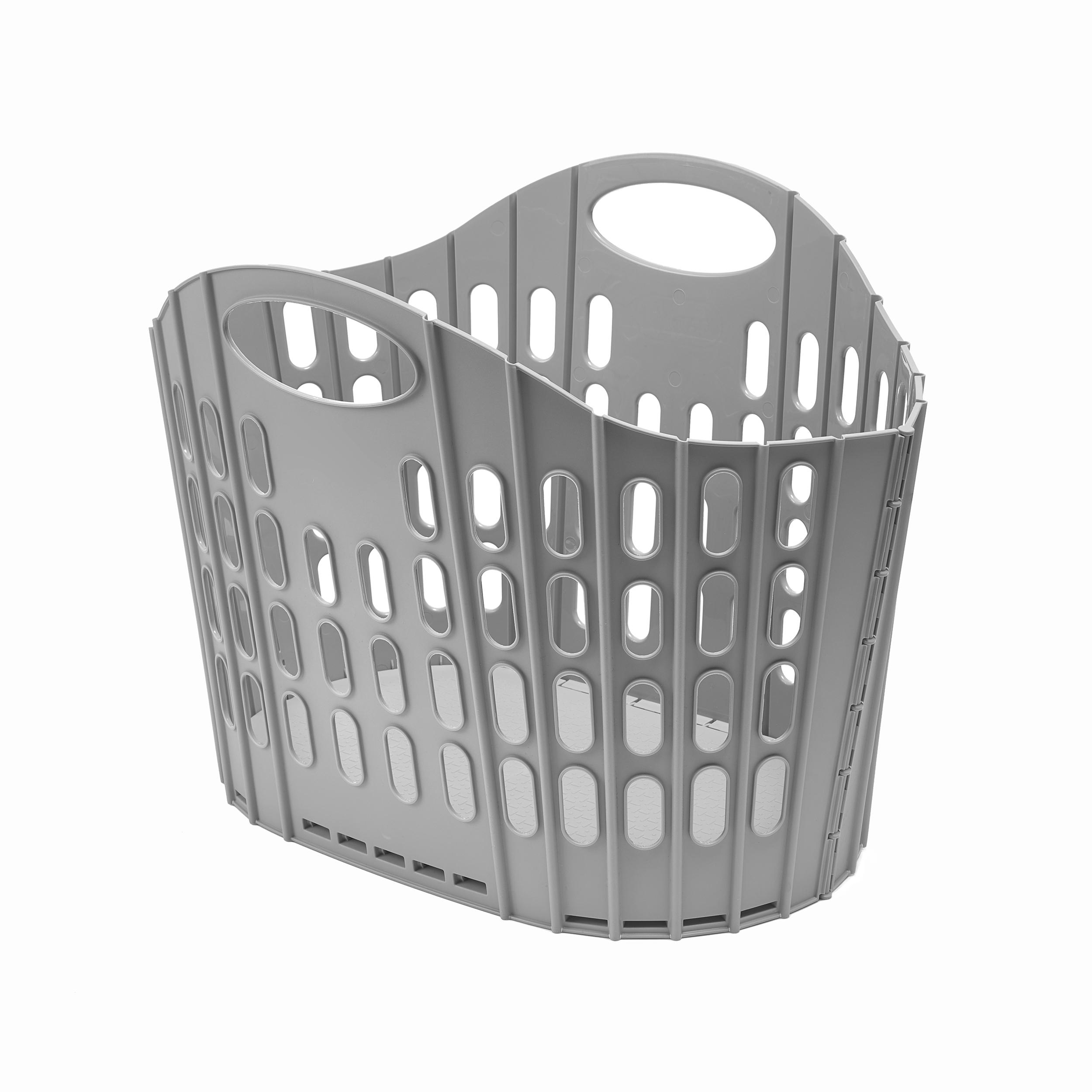Image for Addis Fold Flat Large 38 Litre Laundry Basket Ref 518163