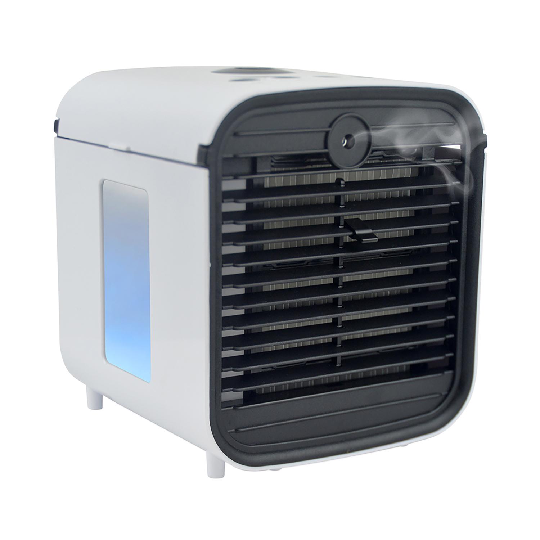 Lloytron Staycool Arctic Blast Evaporative Air Cooler USB Powered 140x145x150mm White Ref F9002WH