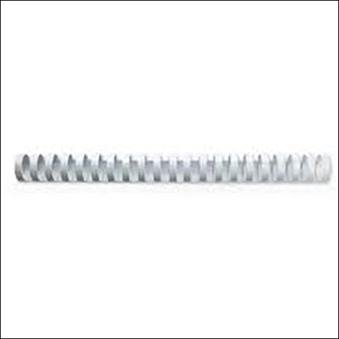Fellowes Plastic Binding Combs 8mm Capacity 21-40 80gsm A4 Sheets Ref 5330403 [Pack 25]