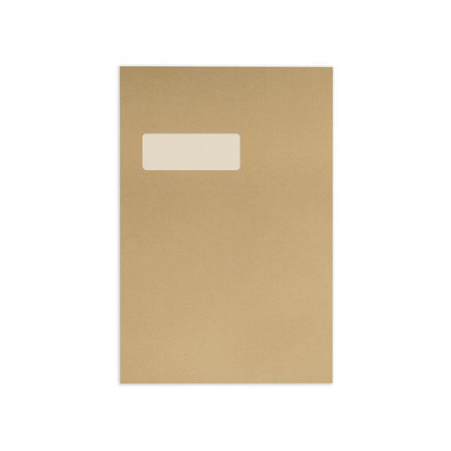 Blake Avant Garde Envelope Gusset Pocket P&S Window 140gsm C4 Cream Manilla Ref AG0054 [Pack 100]