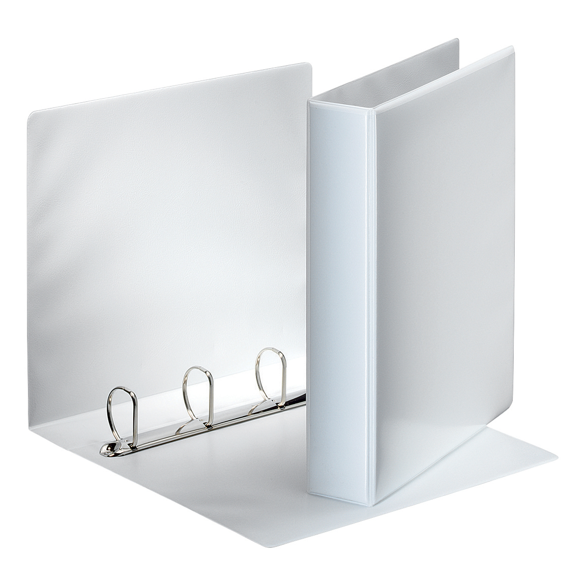 Esselte FSC Presentation Ring Binder Polypropylene 4 D-Ring 40mm A4 White Ref 49704 [Pack 10]
