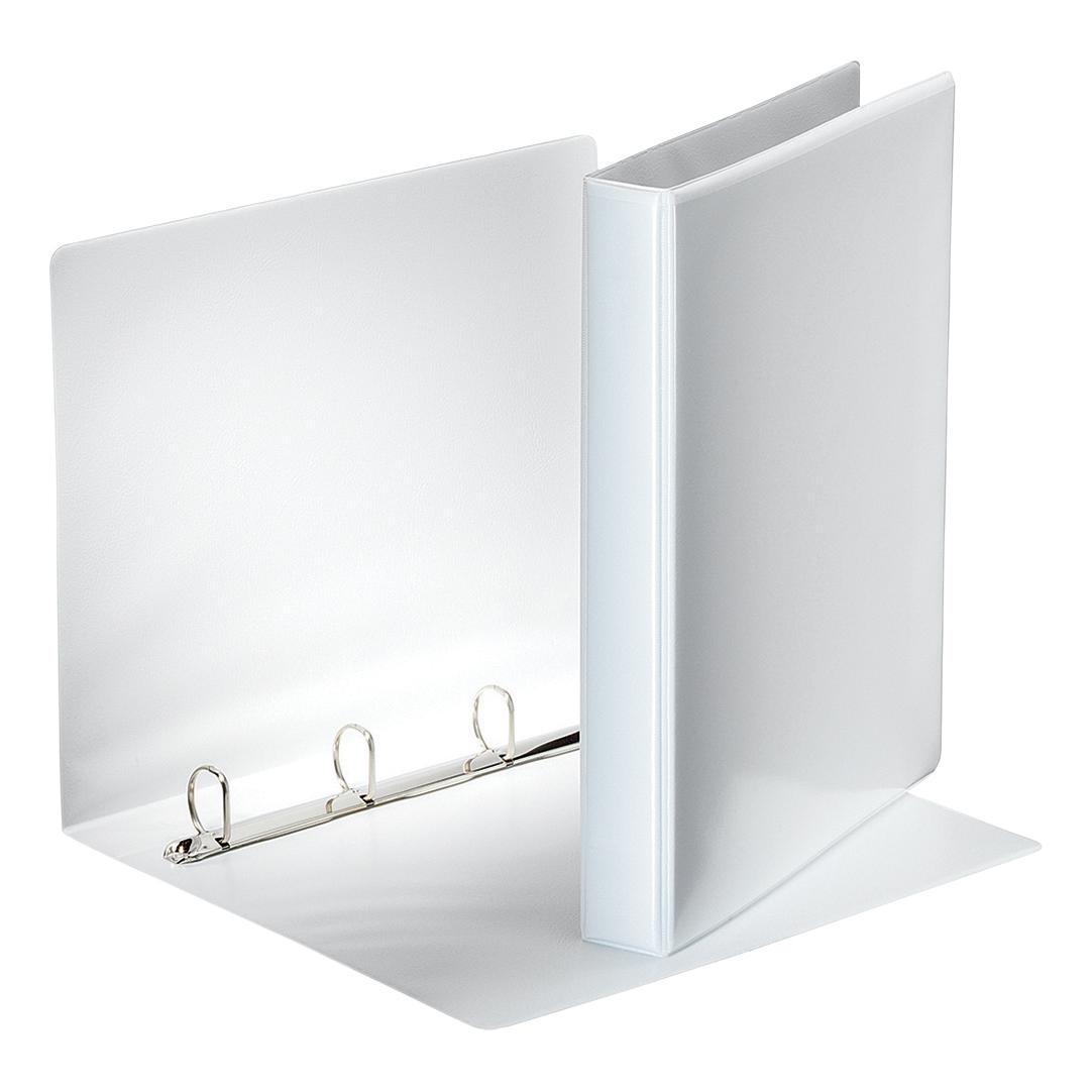 Esselte FSC Presentation Ring Binder Polypropylene 4 D-Ring 25mm A4 White Ref 49702 [Pack 10]
